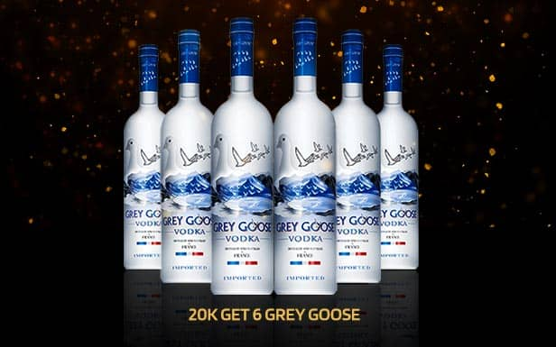 GreyGoose Package at the Pimp Bangkok