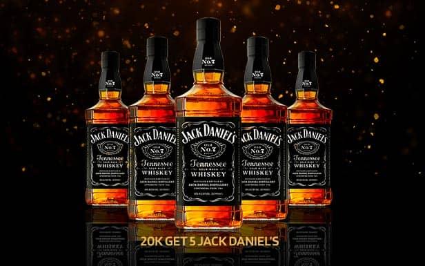Jack Daniel Package at the Pimp Bangkok