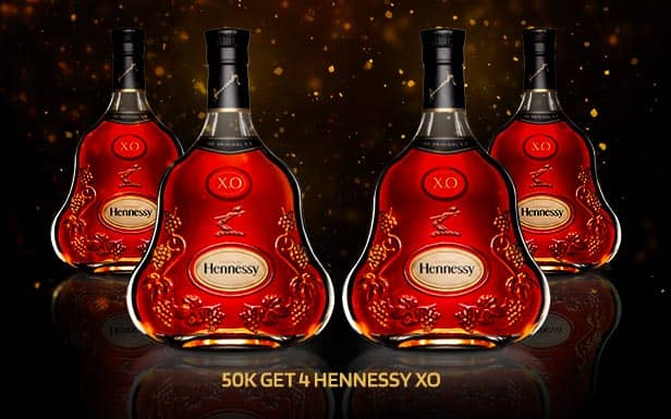 Hennessy XO Package at the Pimp Bangkok