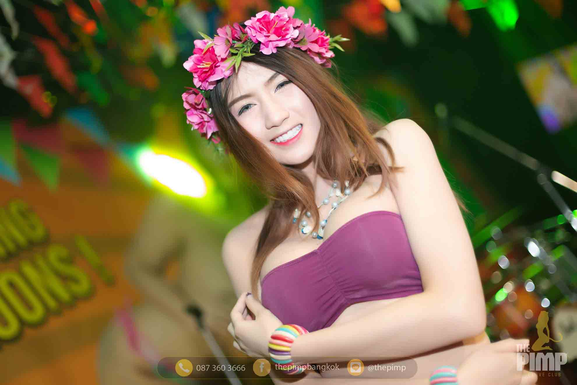 Cosplay Party with Pimp Model dressed in Thai style