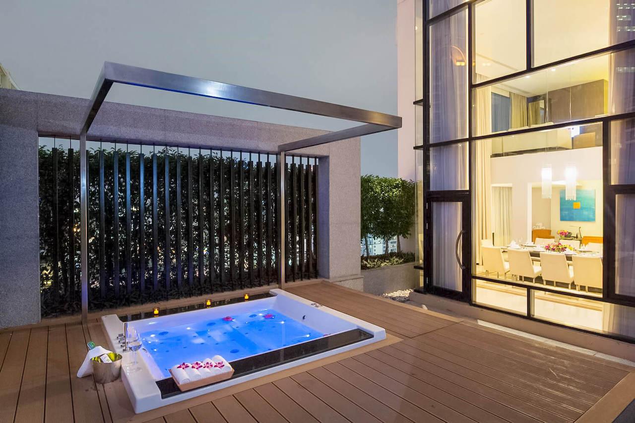 presidential suite at Aetas Bangkok