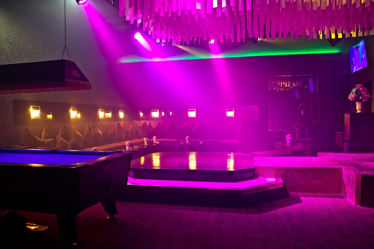 private party rooms at the PIMP bangkok