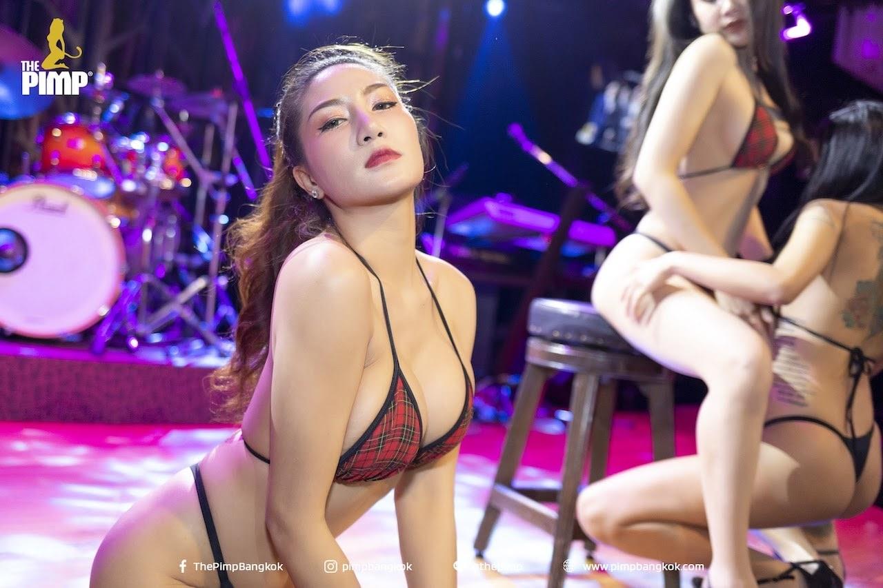 good looking Thai bikini girl at The PIMP Bangkok