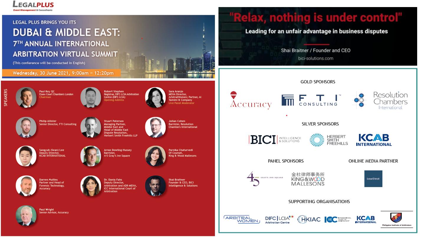 Arbitration Summit, Dubai