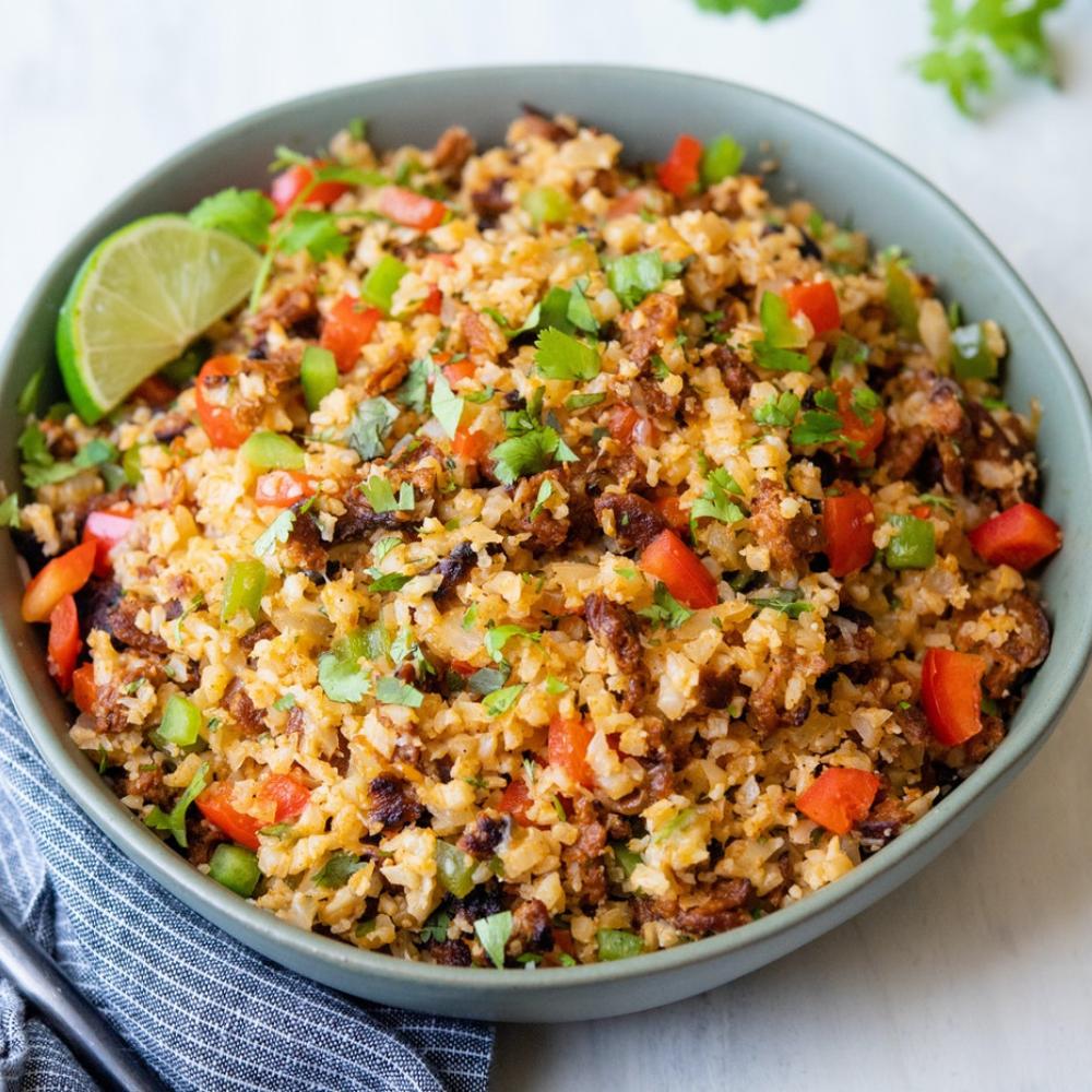 Mexican-Style Cauliflower Rice