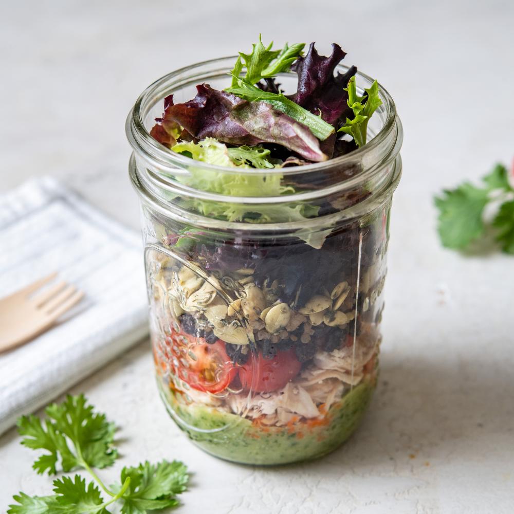 Cilantro Field Fresh Salad Shaker