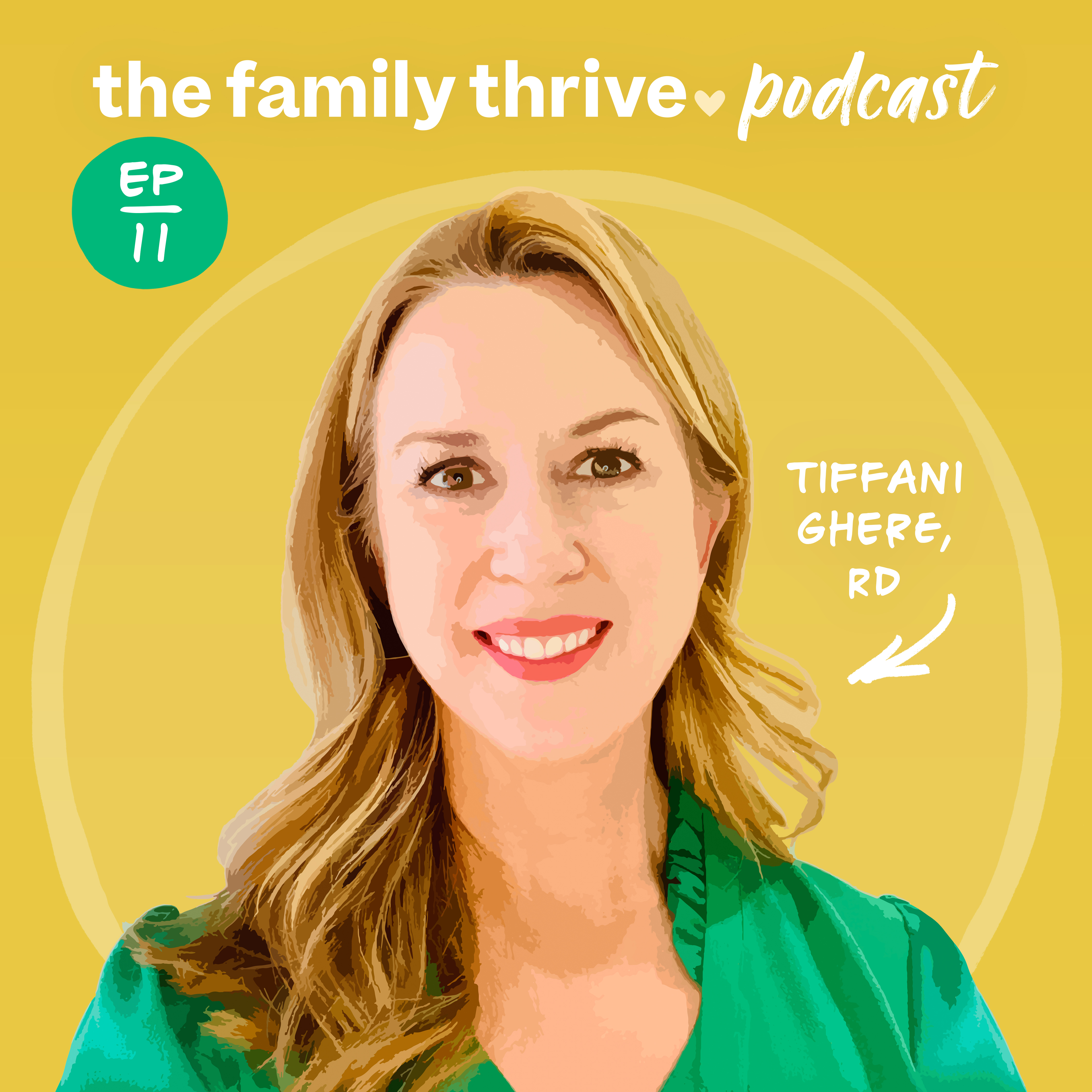 Podcast Ep. 11: Feeding Kids From Infancy Through Adulthood With Tiffani Ghere, RD, CSP, CLEC