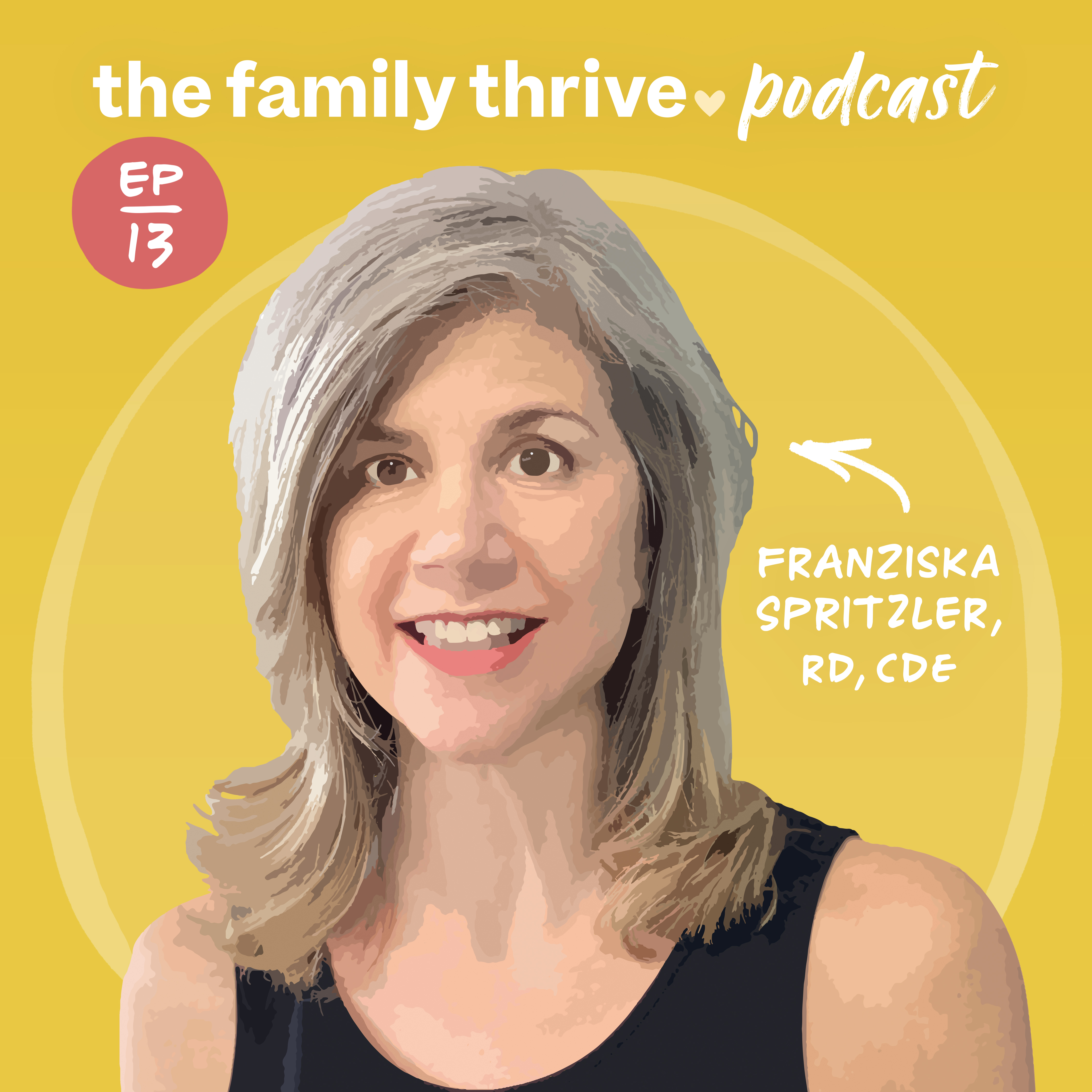 Podcast Ep. 13: What Every Parent Needs to Know About Carbs, Protein, and Fat With Franziska Spritzler, RD, CDE