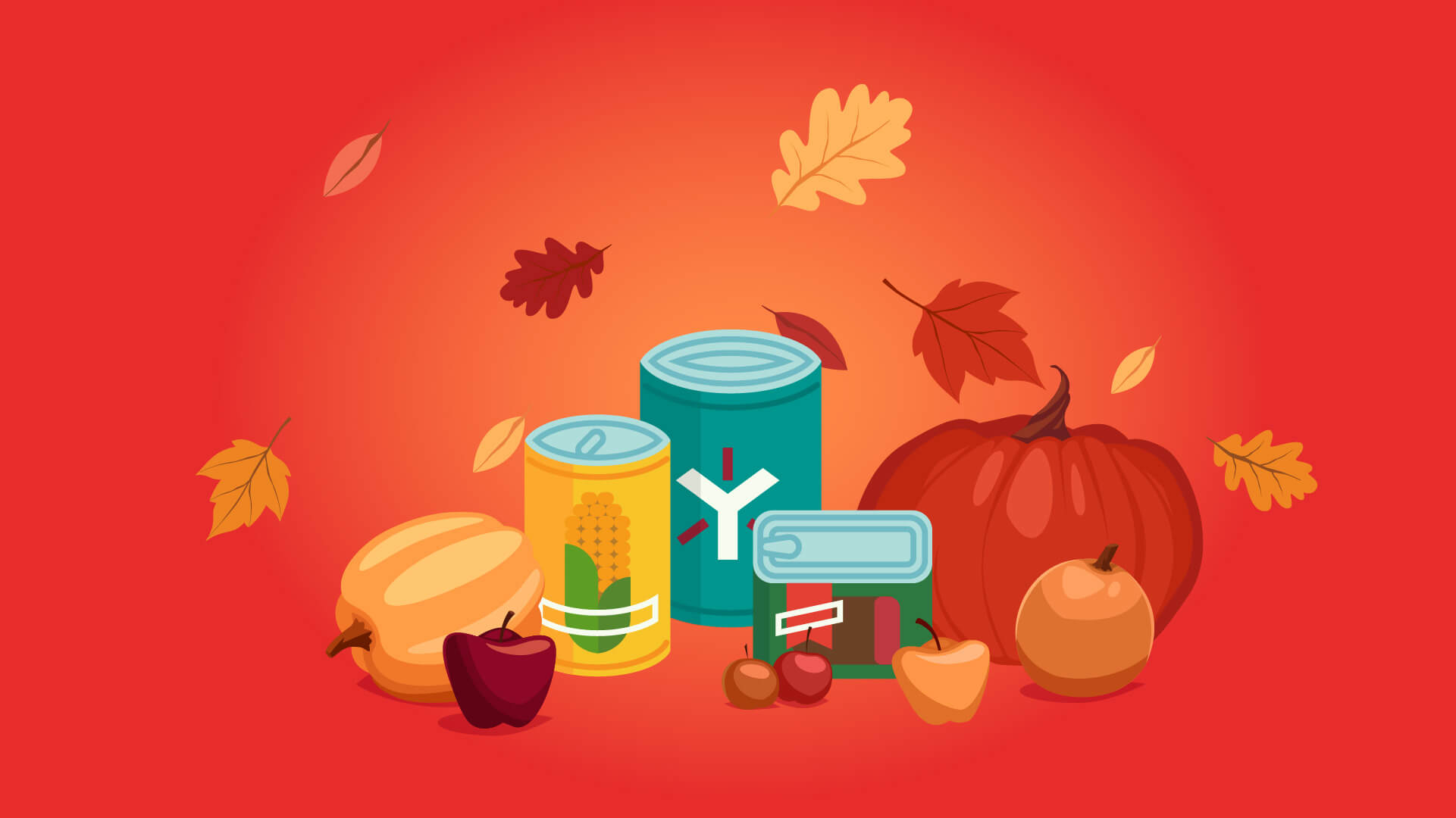 Second-Harvest-Can-Drive  - Giving Thanks Means Giving Back -Egnyte Blog