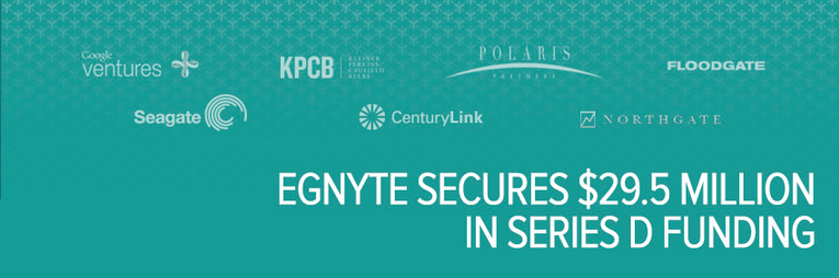 Egnyte Secures $29.5 Million in Series D Funding -Egnyte Blog