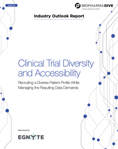 Clinical Trial Diversity and Accessibility: Managing the Data Demands - Egnyte Blog