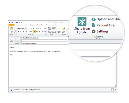 Outlook Users: Egnyte Unveils Outlook Add-in 3.1 - Egnyte Blog