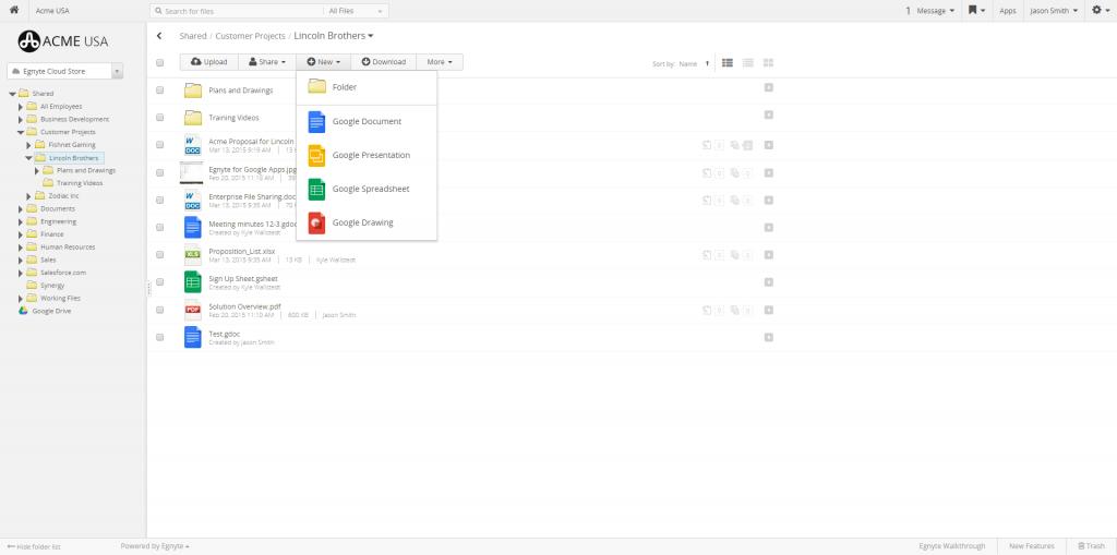 Introducing Egnyte for Google Apps - Egnyte Blog