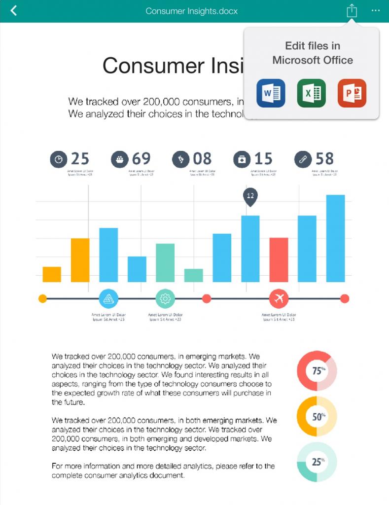 Office Mobile Integration (iOS) - Egnyte Bog