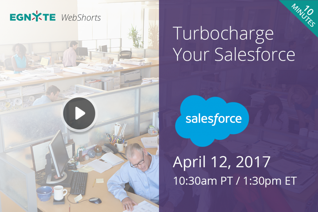Want to Turbocharge your Salesforce- Egnyte Blog
