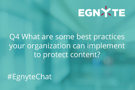 Content Protection Best Practices- Egnyte Blog