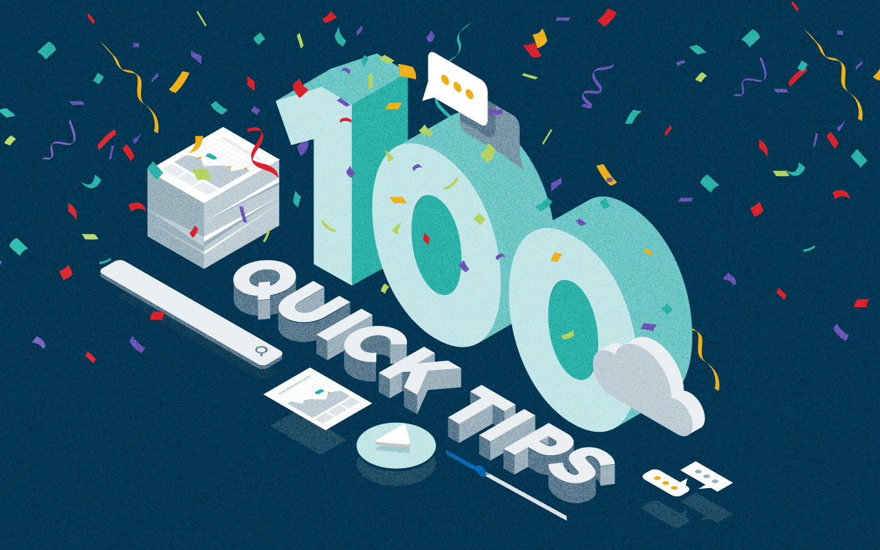 Celebrating 100 Quick Tips: Egnyte Platform Knowledge in Less Than 60 Seconds