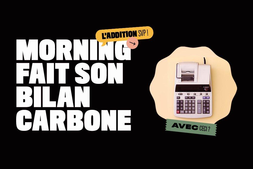 afficher morning fait son bilan carbone avec bcorp