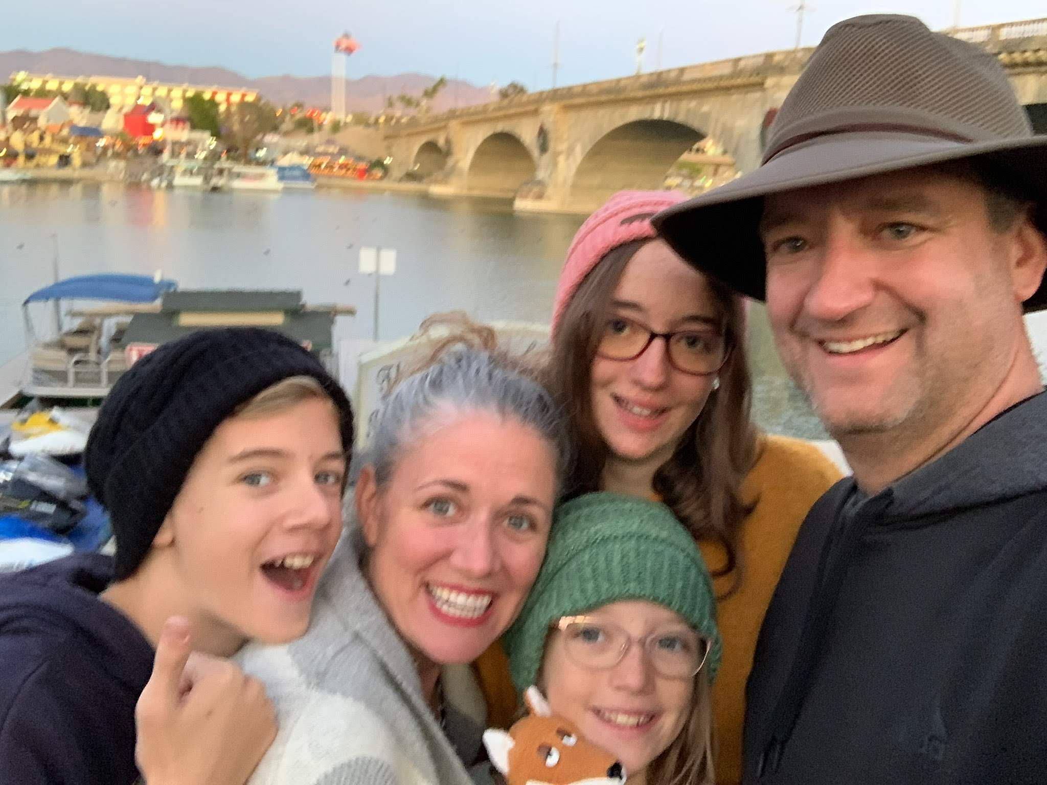 Picture of James' Family