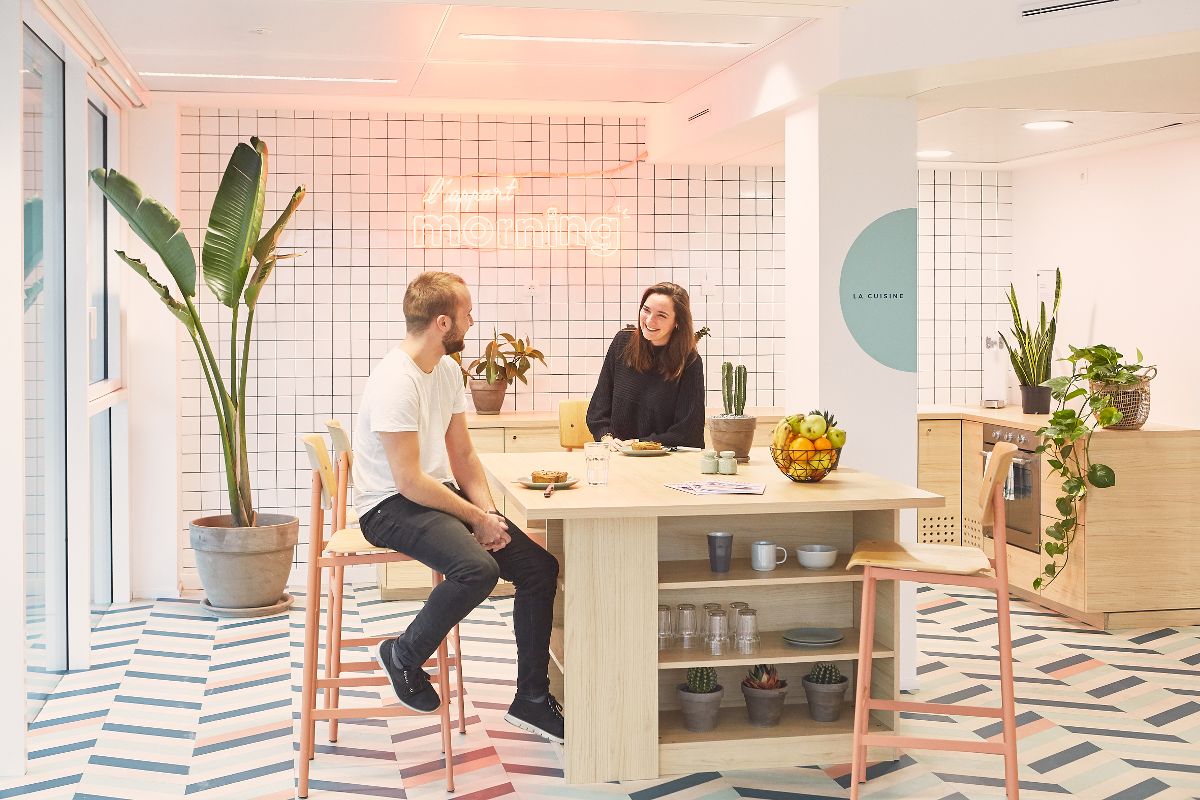 coworking clichy - la cuisine