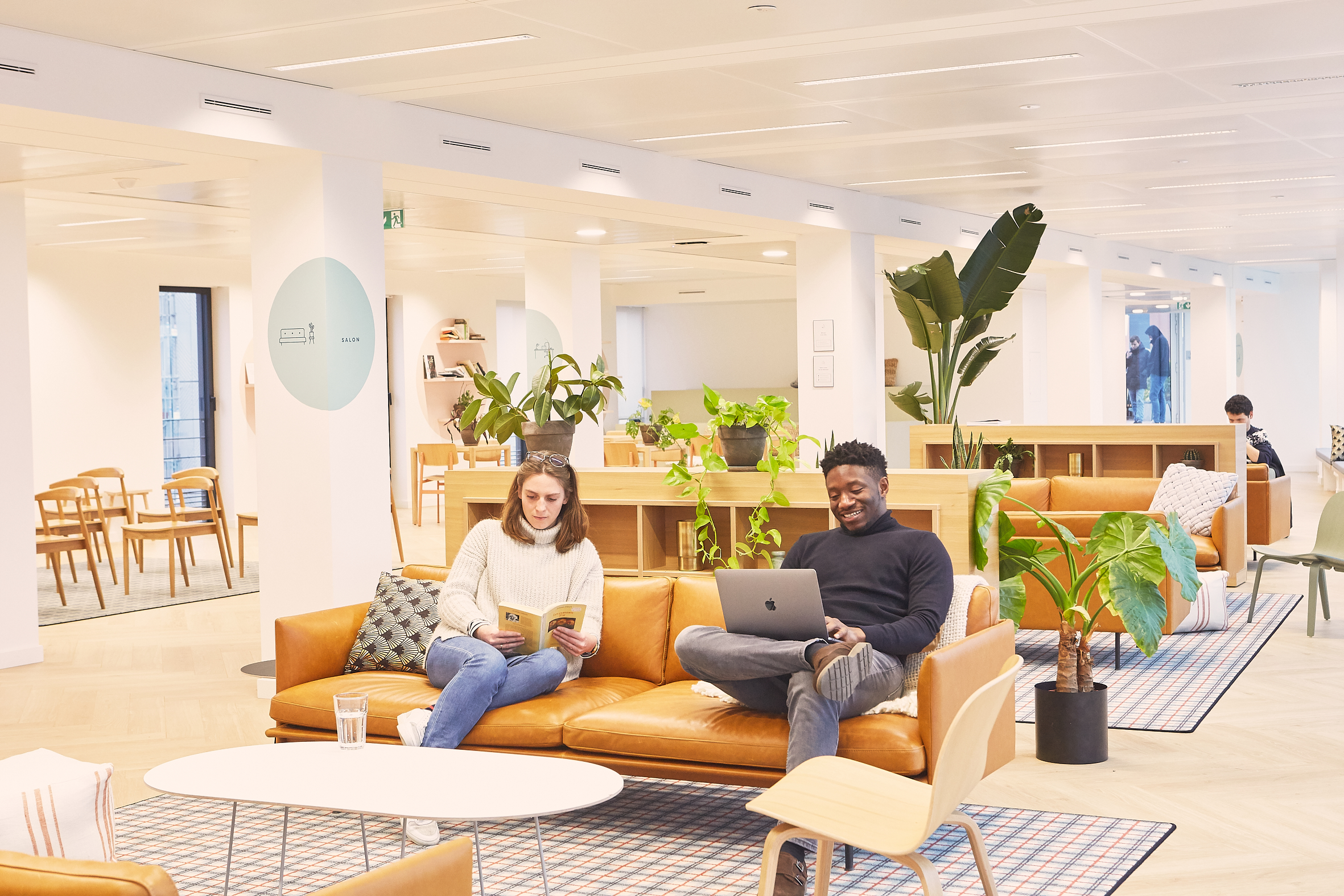 coworking clichy - open space