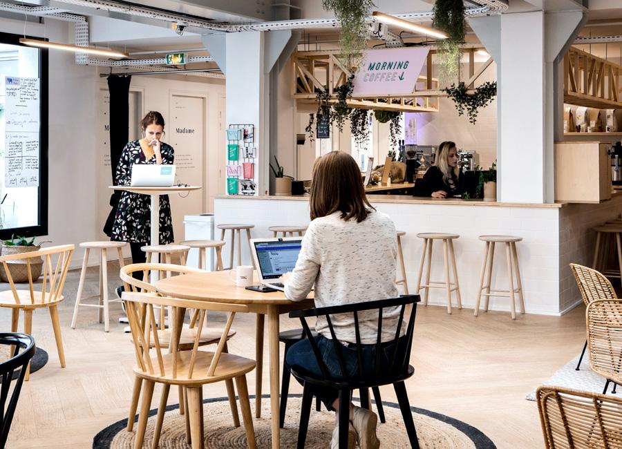 coworking saint lazare - open space