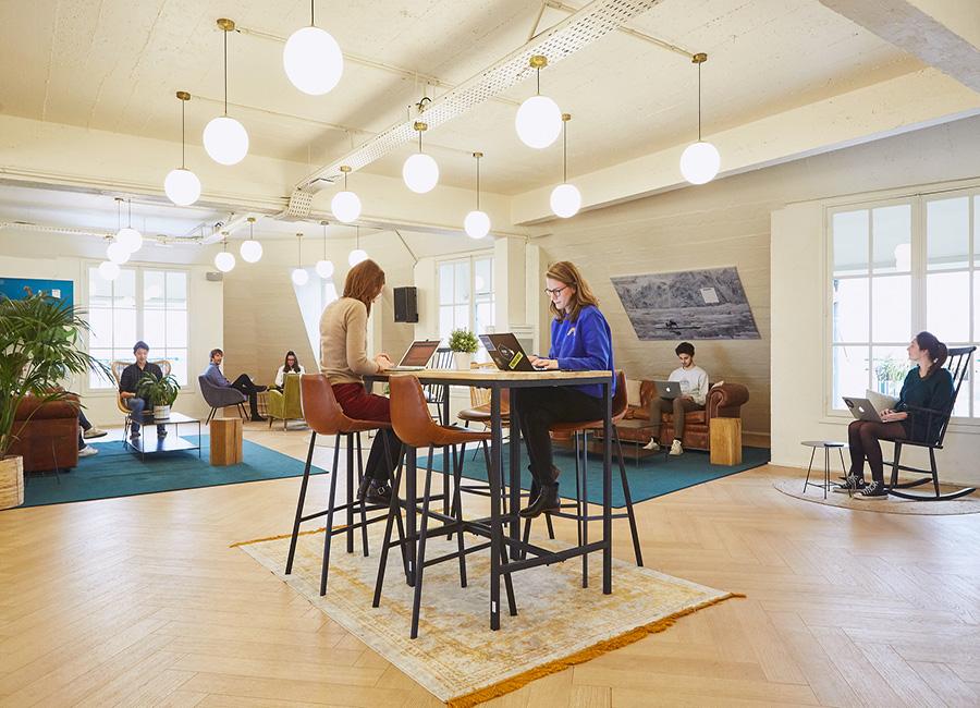 coworking paris 10 - l'espace commun