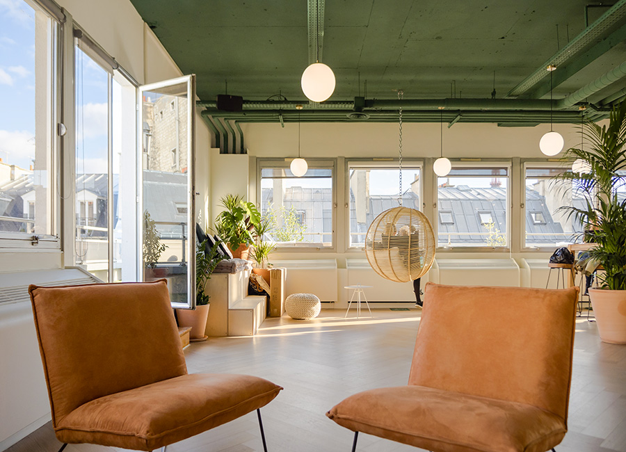 coworking paris 8 - coin cocooning