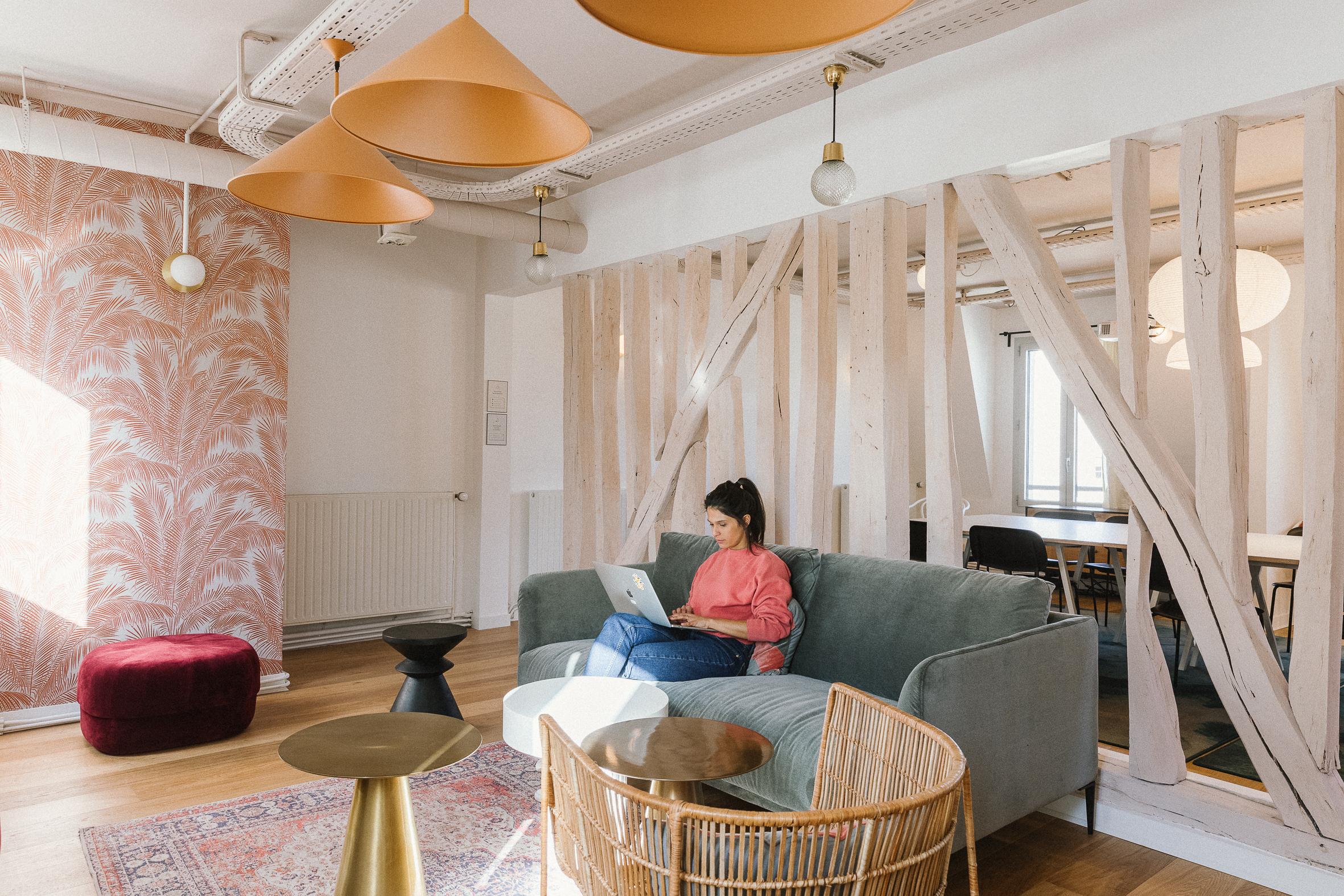 coworking paris 2 - bureau design