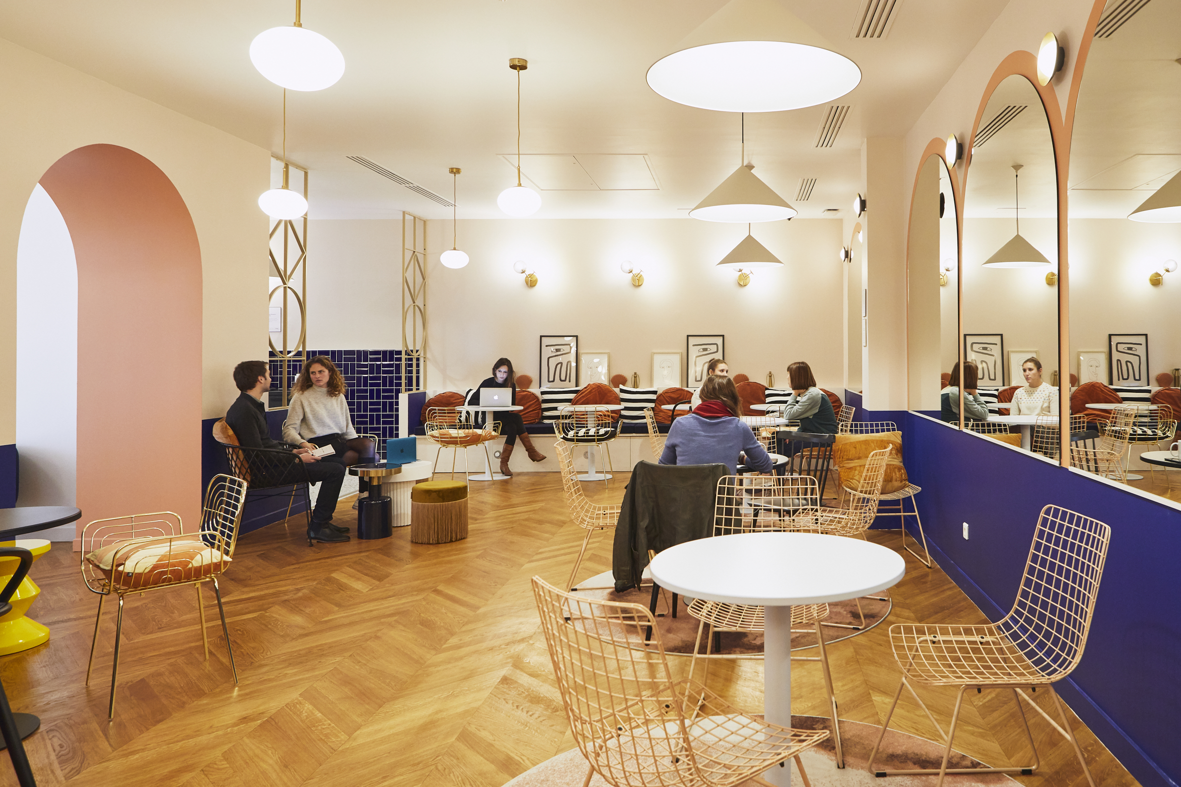 coworking Champs-Elysees - open space
