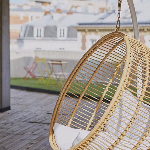 Montsouris Le toit terrasse