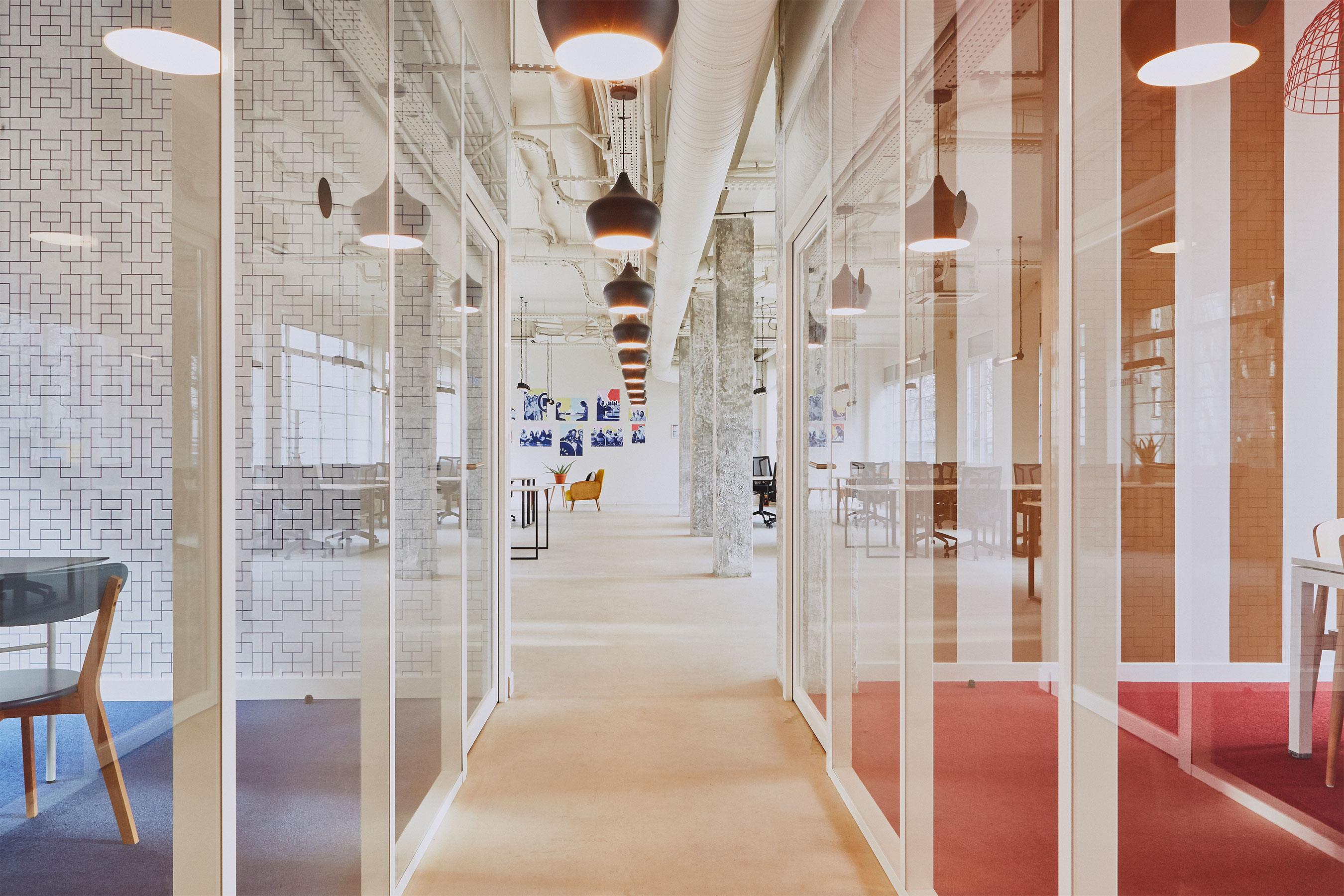 Coworking paris 18 - bureau fermé