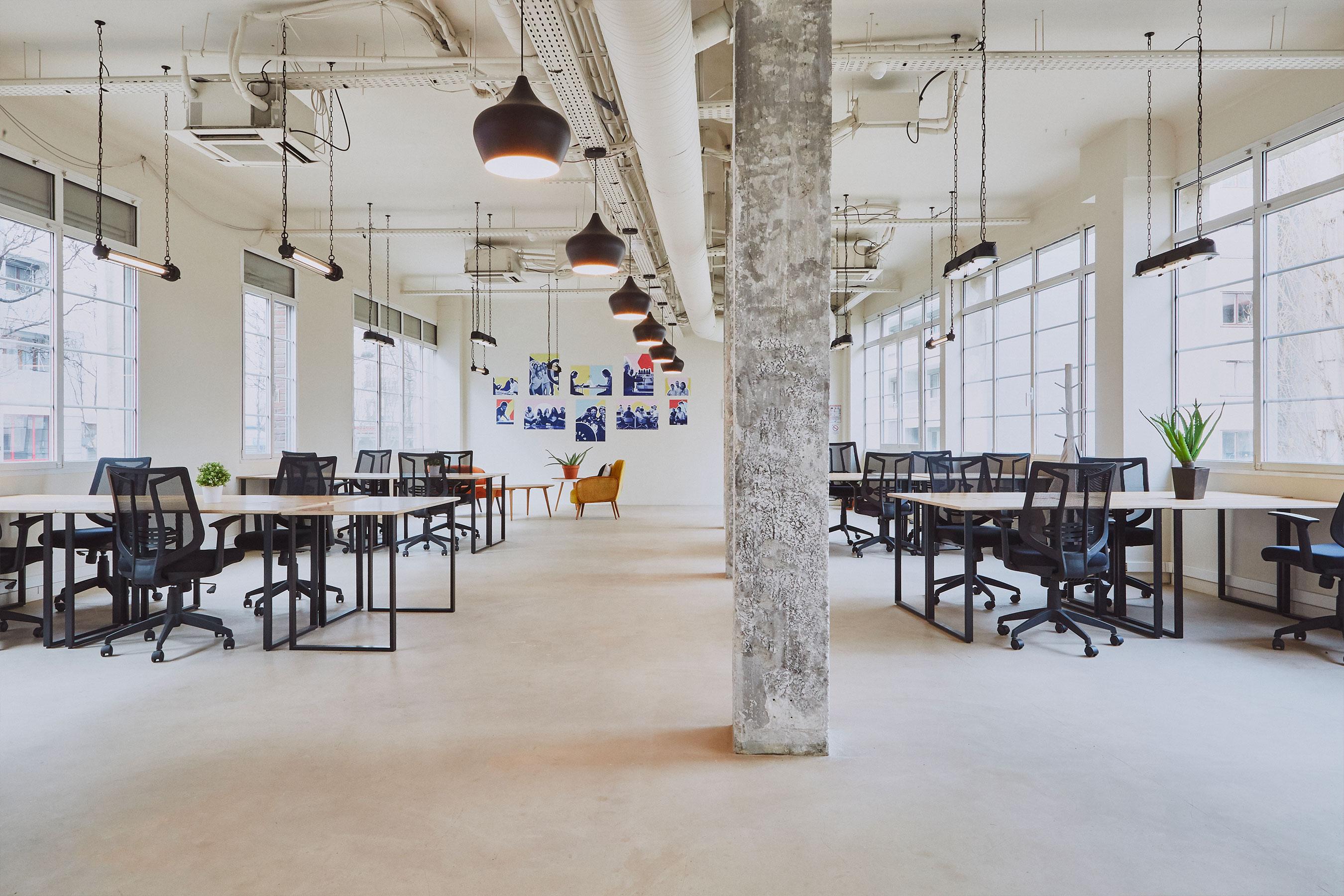 Coworking paris 18 - bureau
