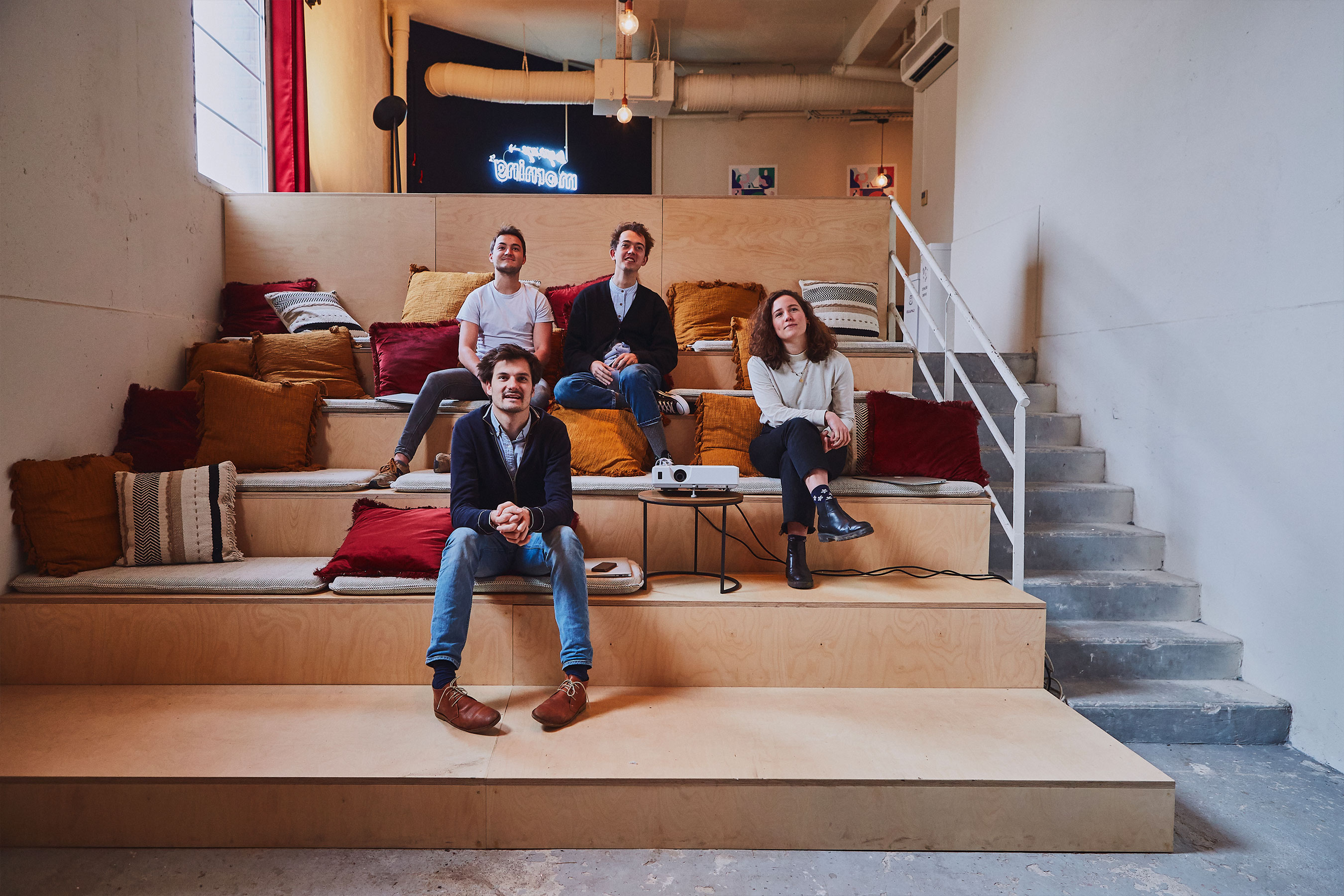 Coworking paris 18 - salle ciné