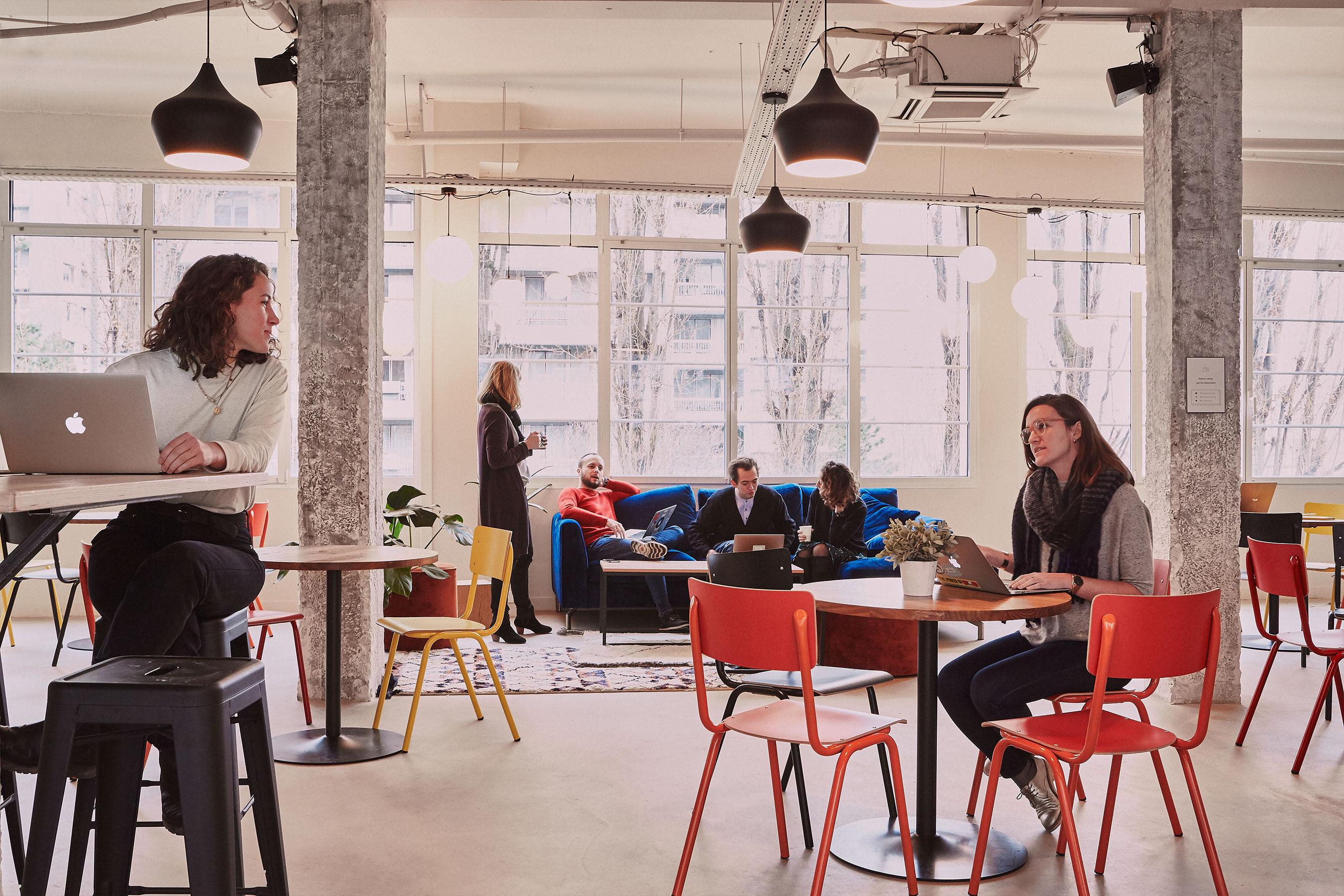 Coworking paris 18 - Espace commun