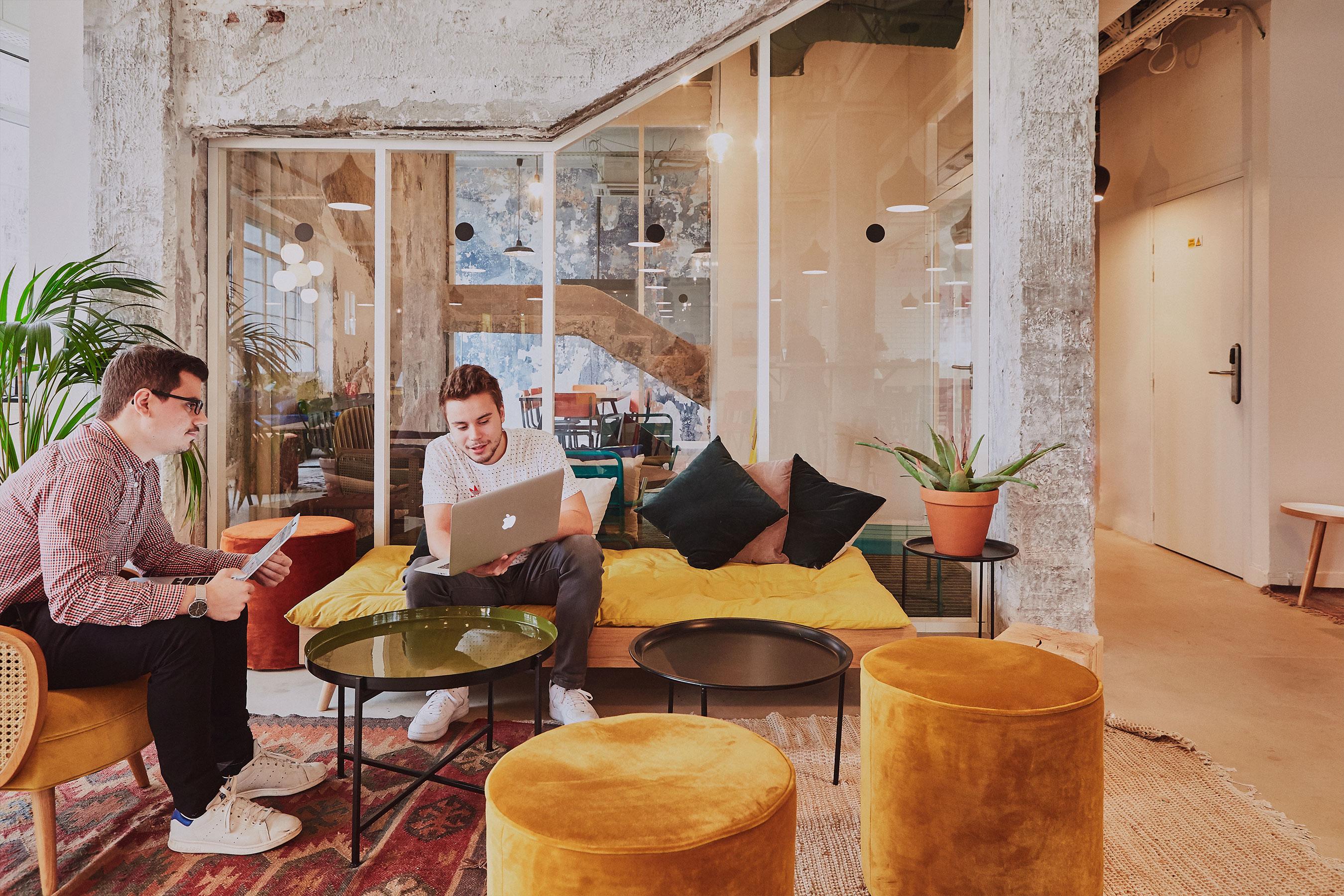 Coworking paris 18 - salon
