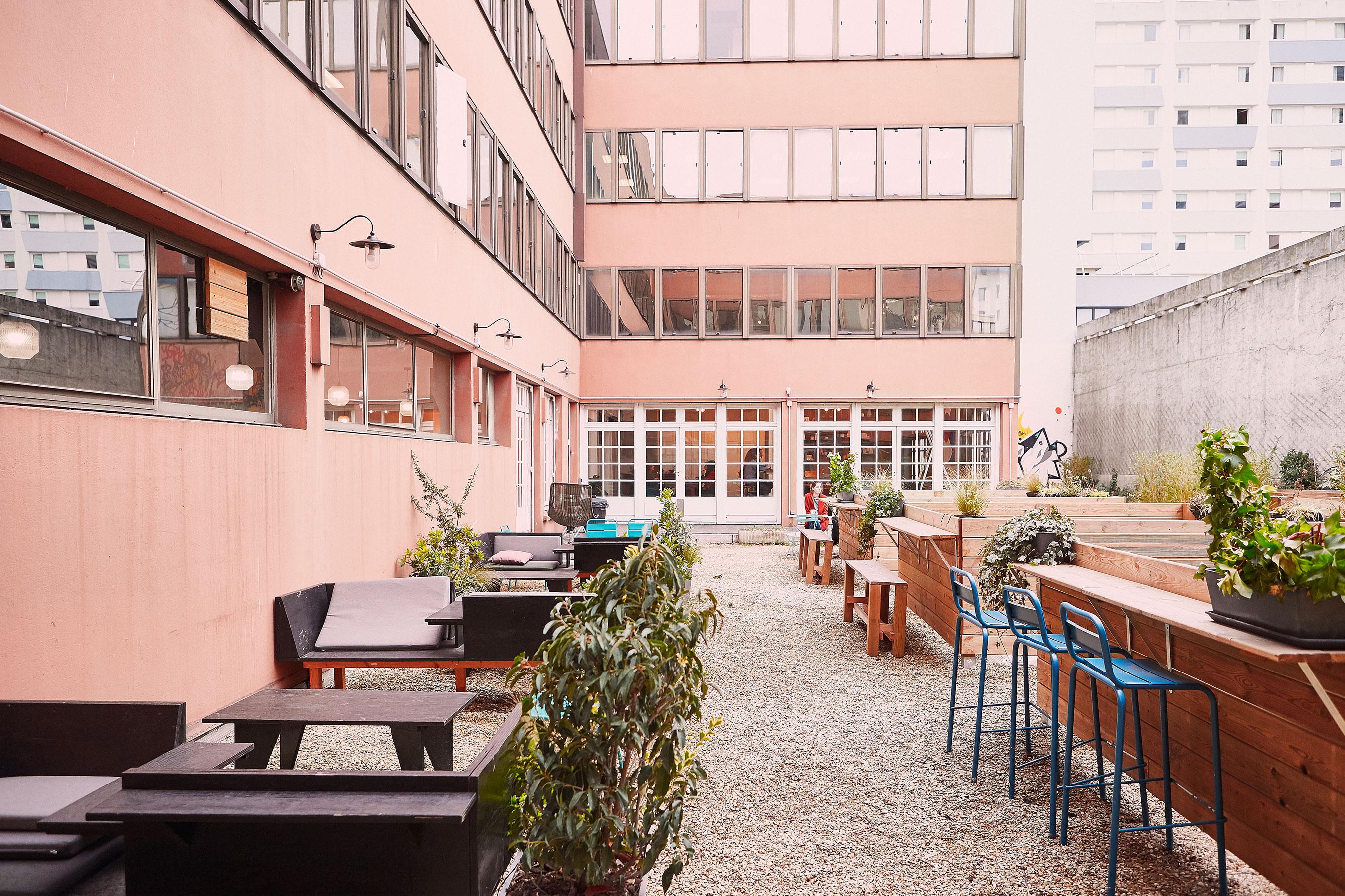 Coworking bagnolet - terrasse