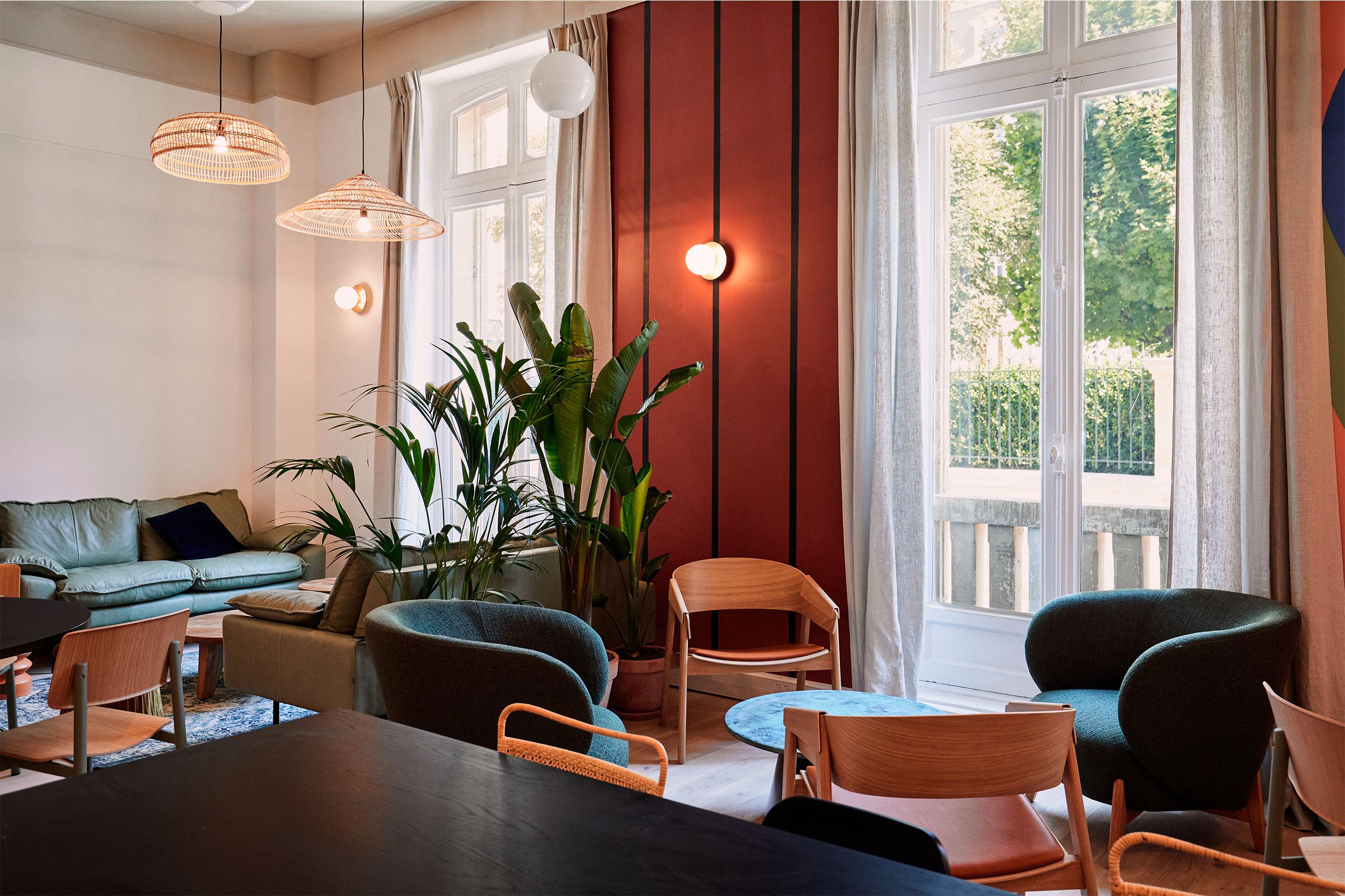 Coworking paris 16 - salon