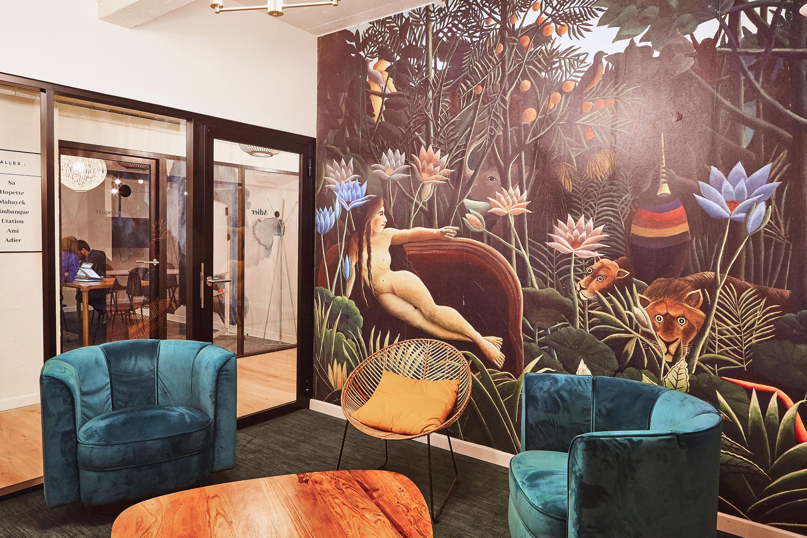 coworking paris 10 - une salle de réunion