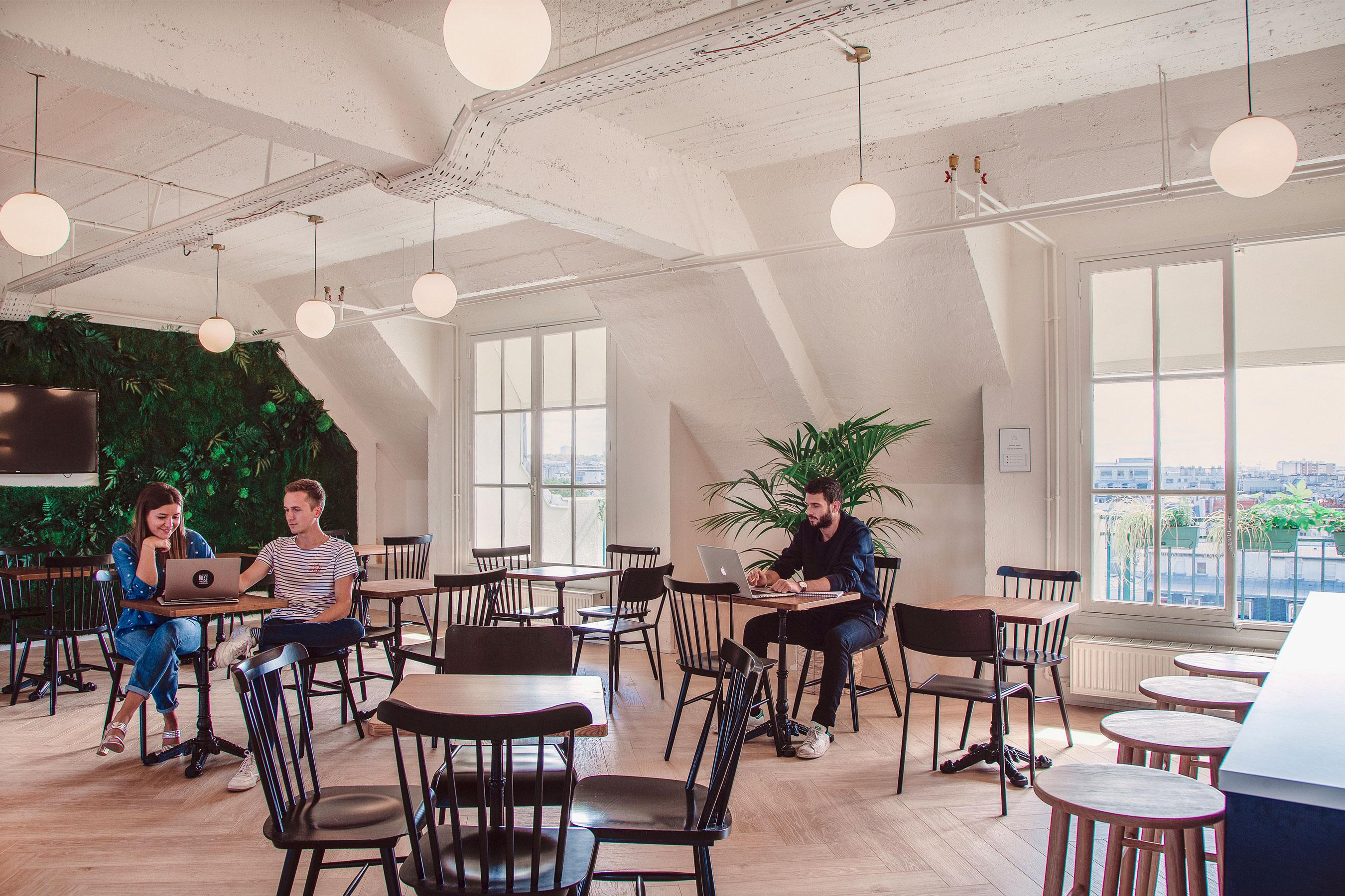 coworking paris 10 - l'espace Commun au 8ème