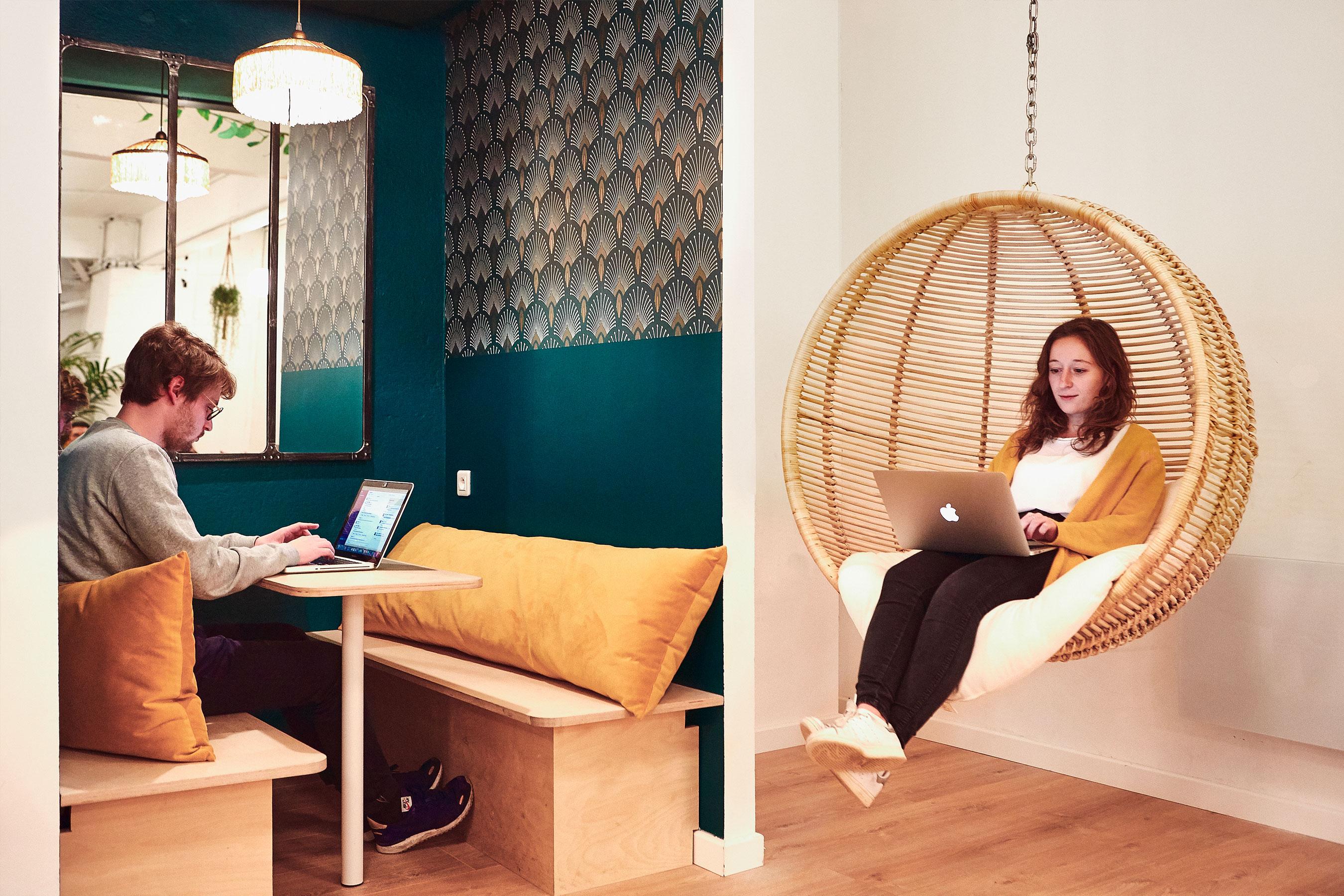 coworking paris 10 - espace commun