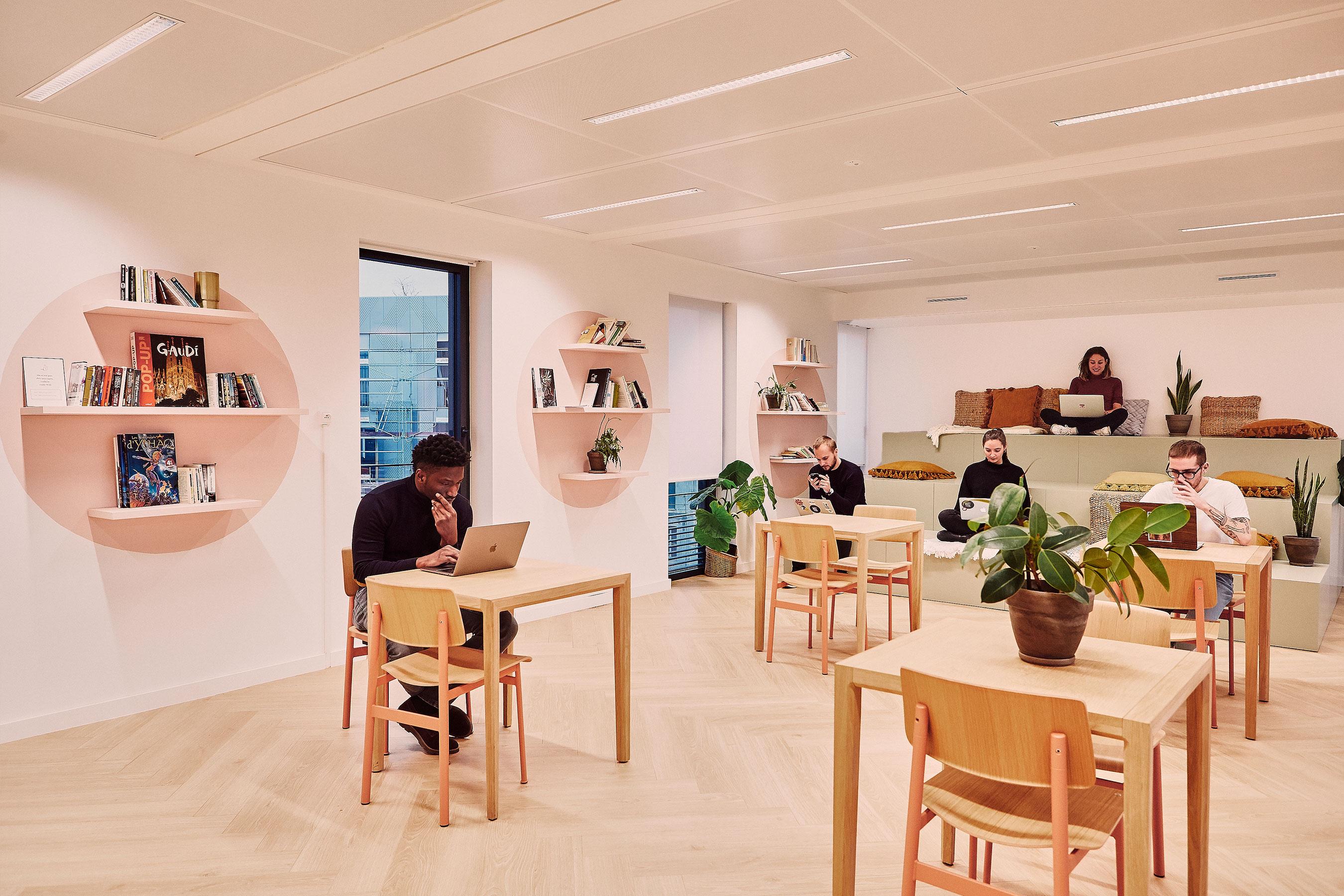 coworking clichy - espace informel