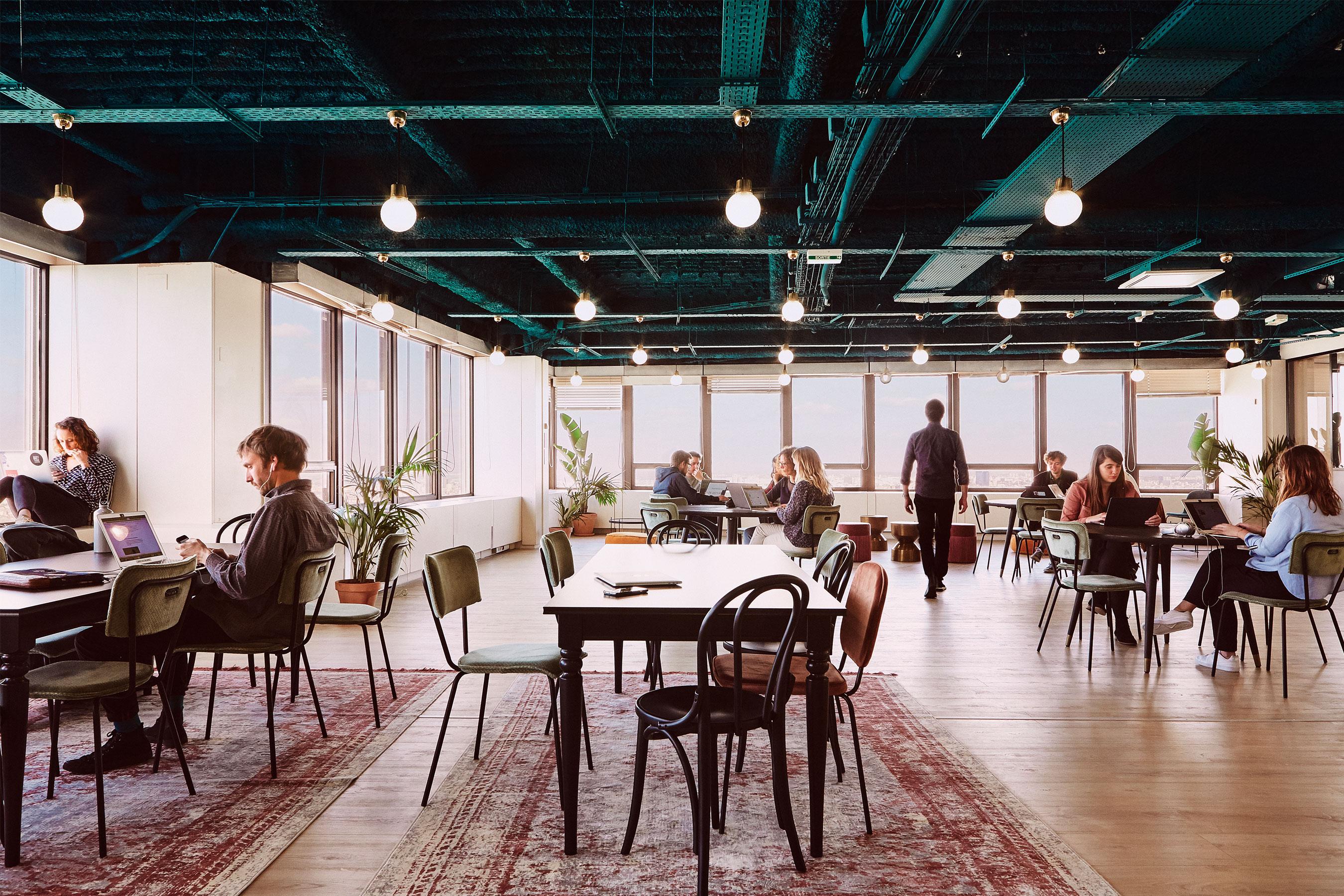 coworking Montparnasse - partie commune