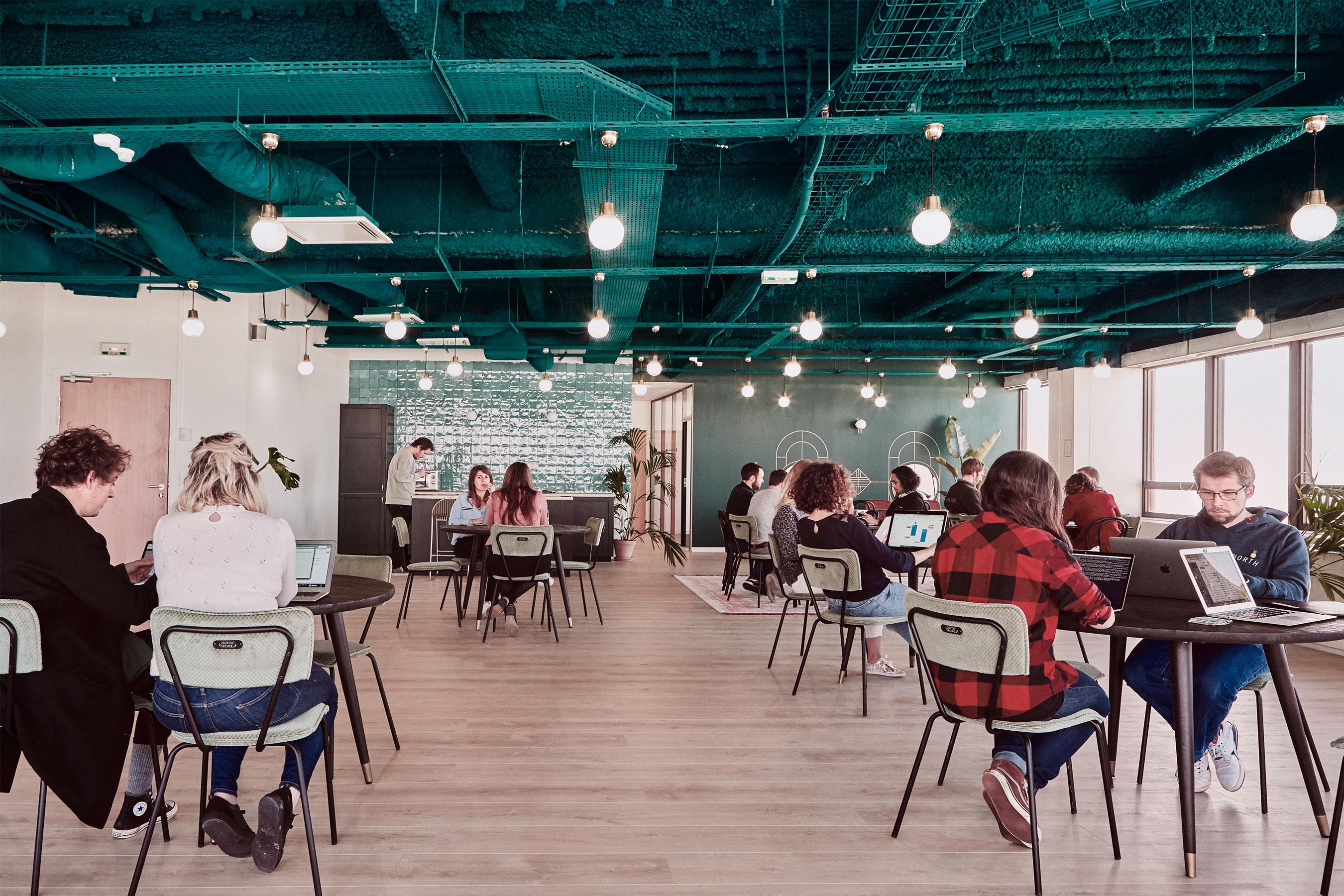 coworking Montparnasse - espace commun