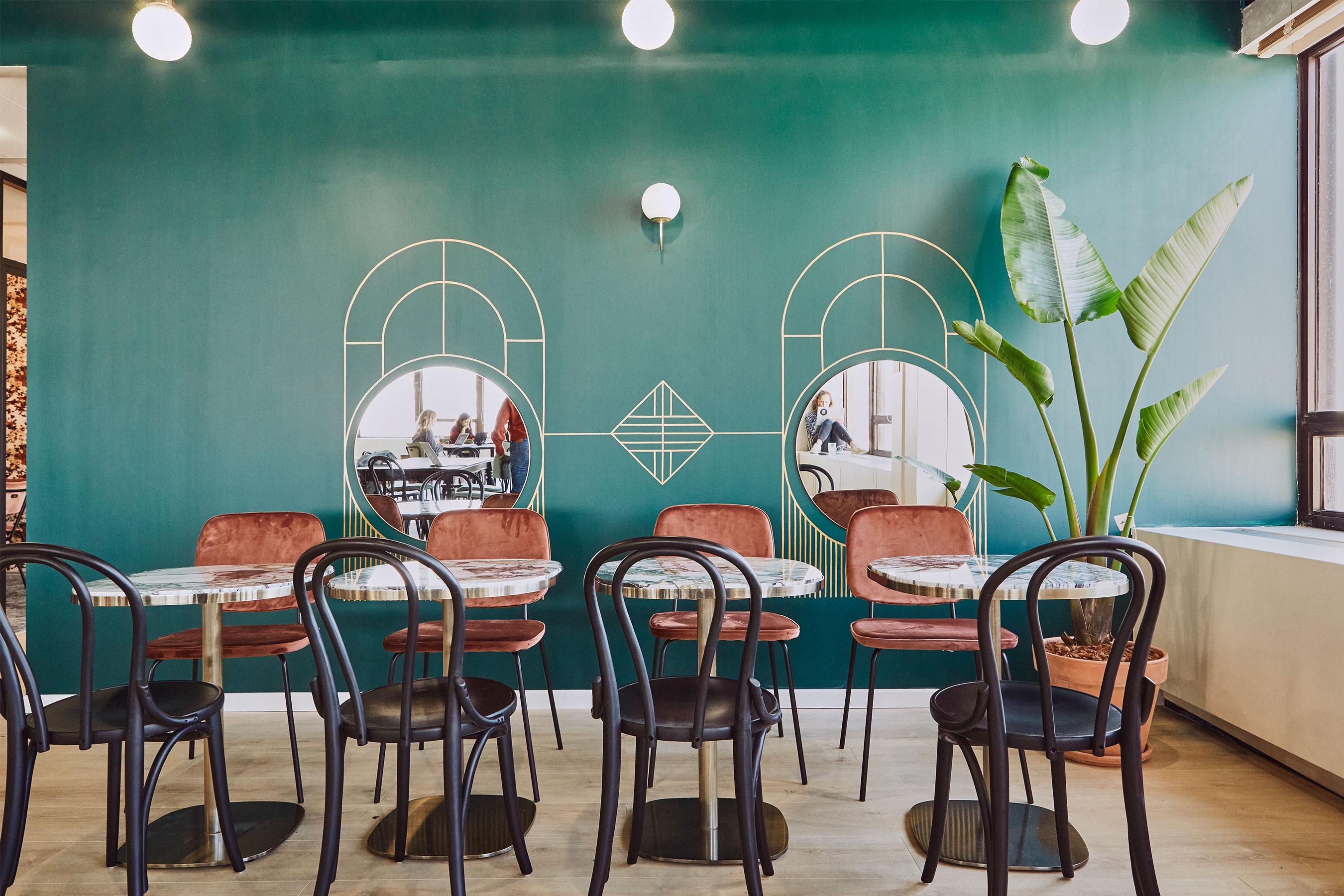 coworking Montparnasse - salon