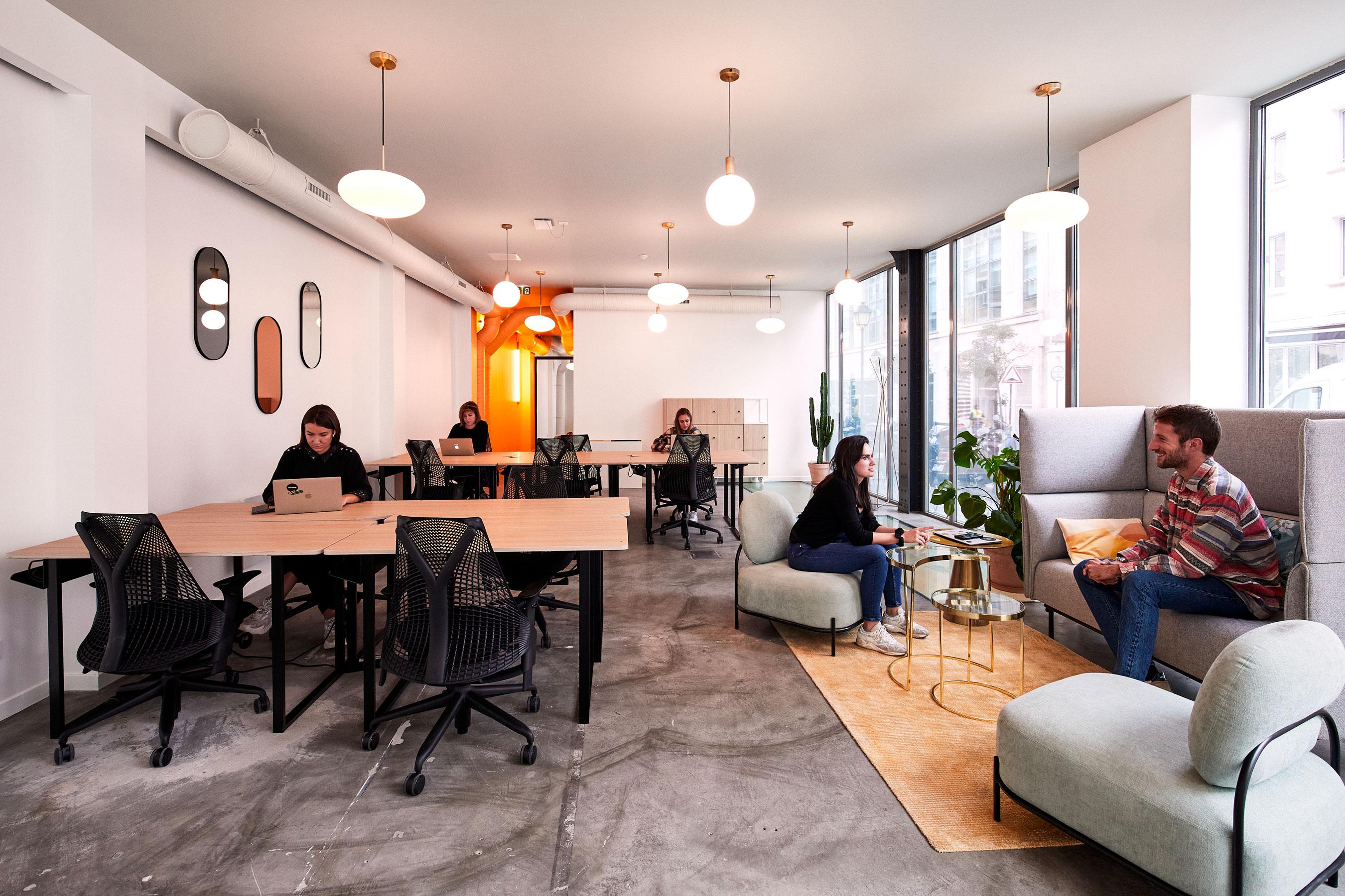 location bureau paris 2 -Bureau et espace commun