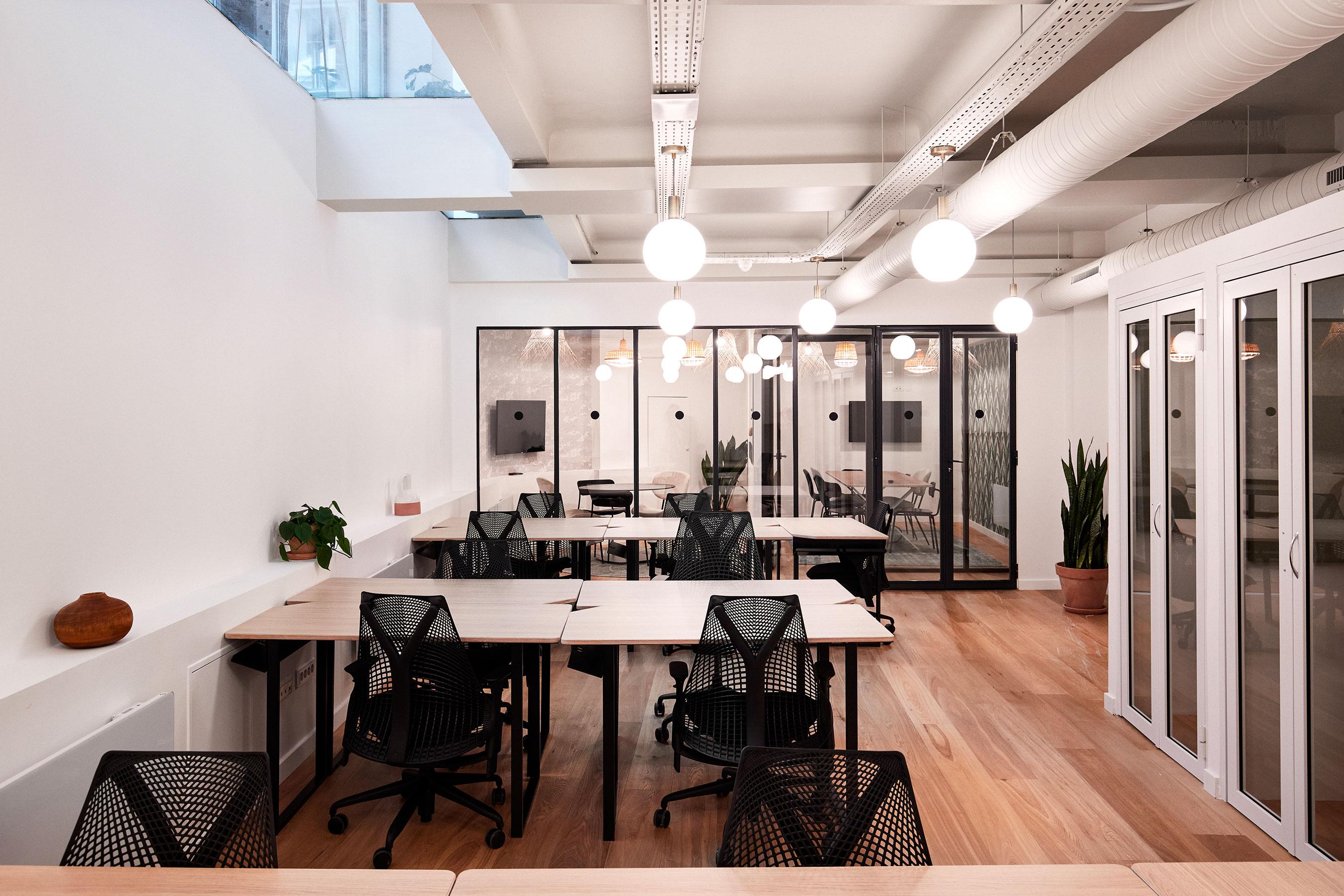 location bureau paris 2 -Bureau et salle de réunion