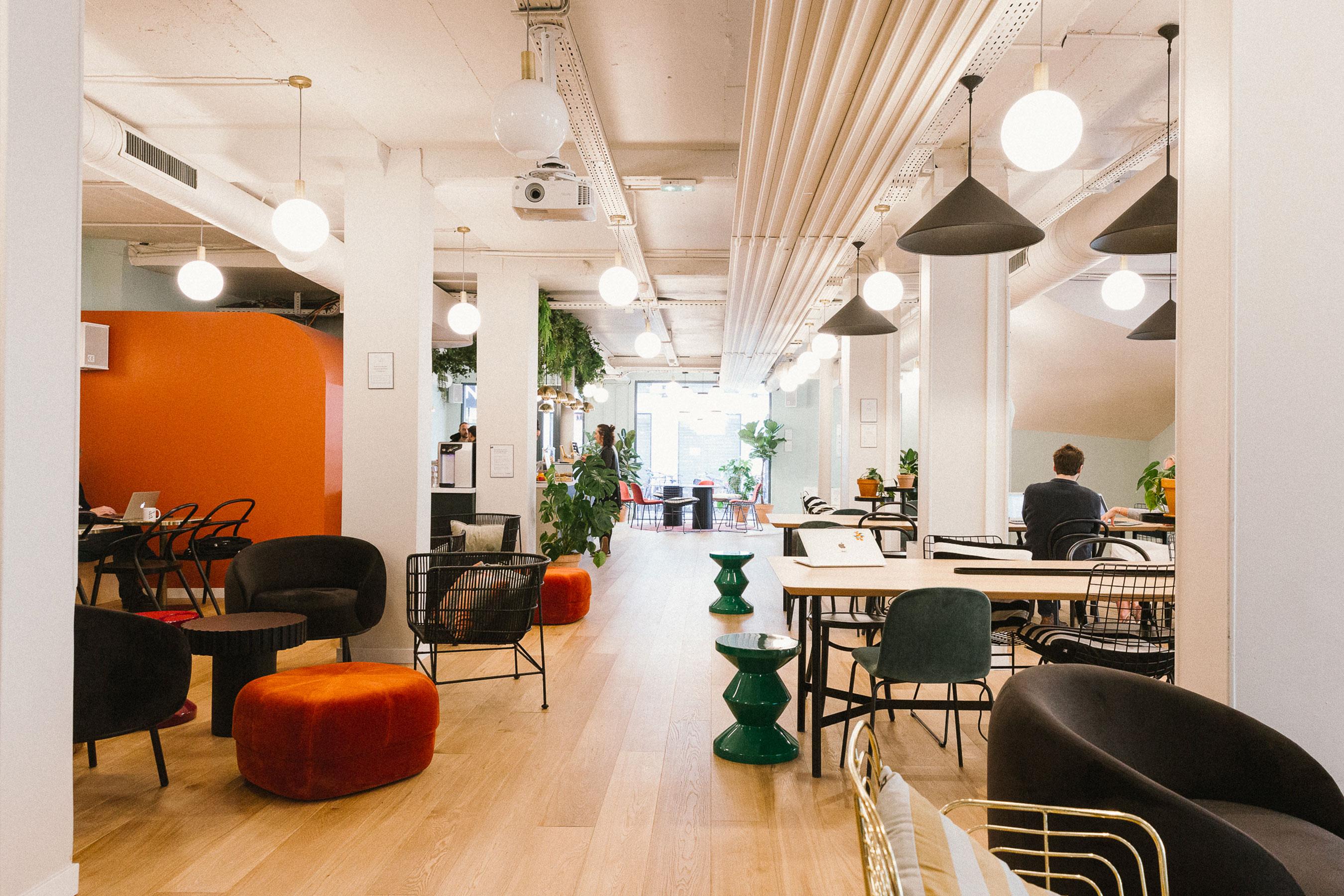coworking paris 2 - Espace commun et café