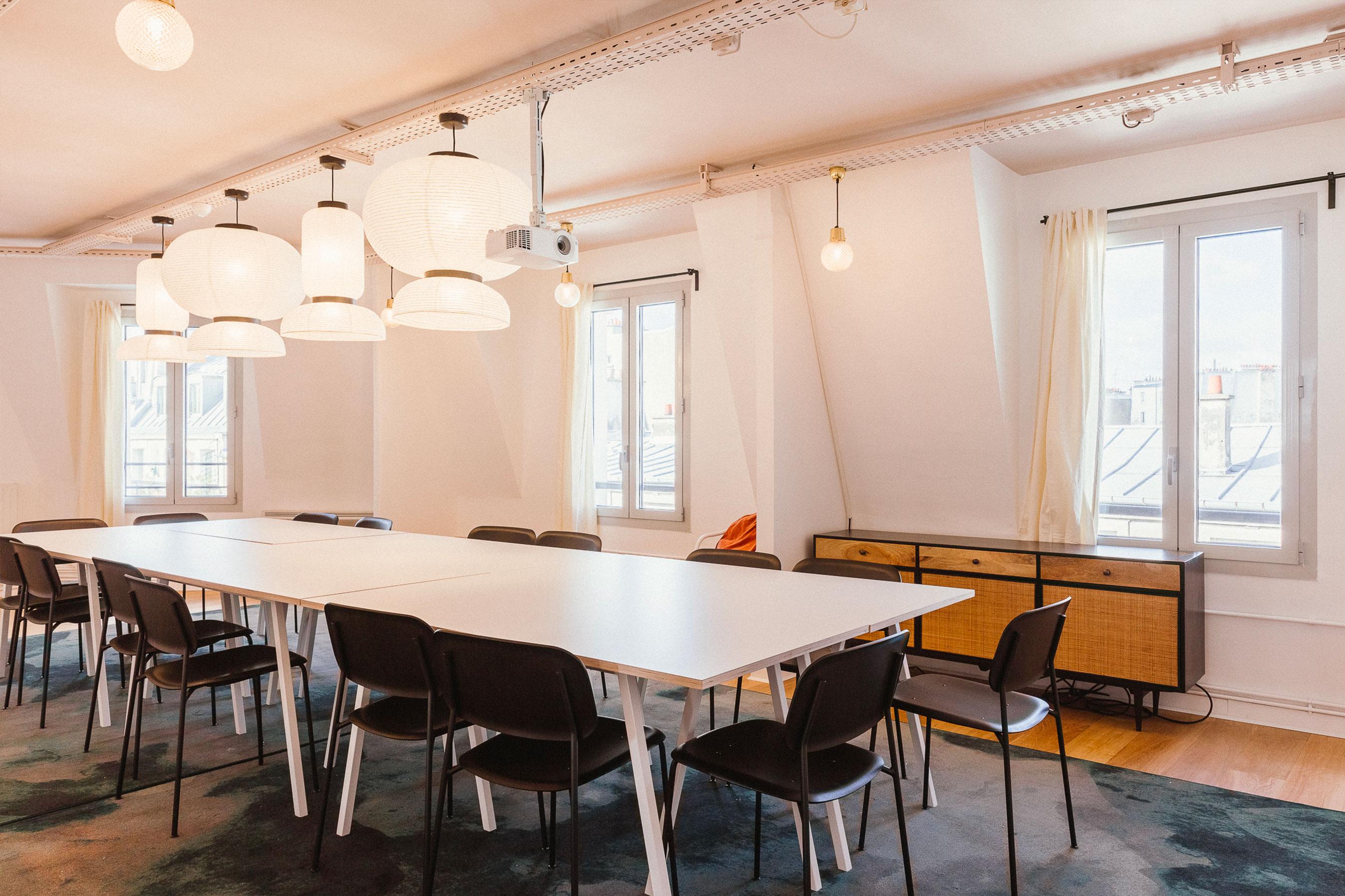 coworking paris 2 - Salle de réunion