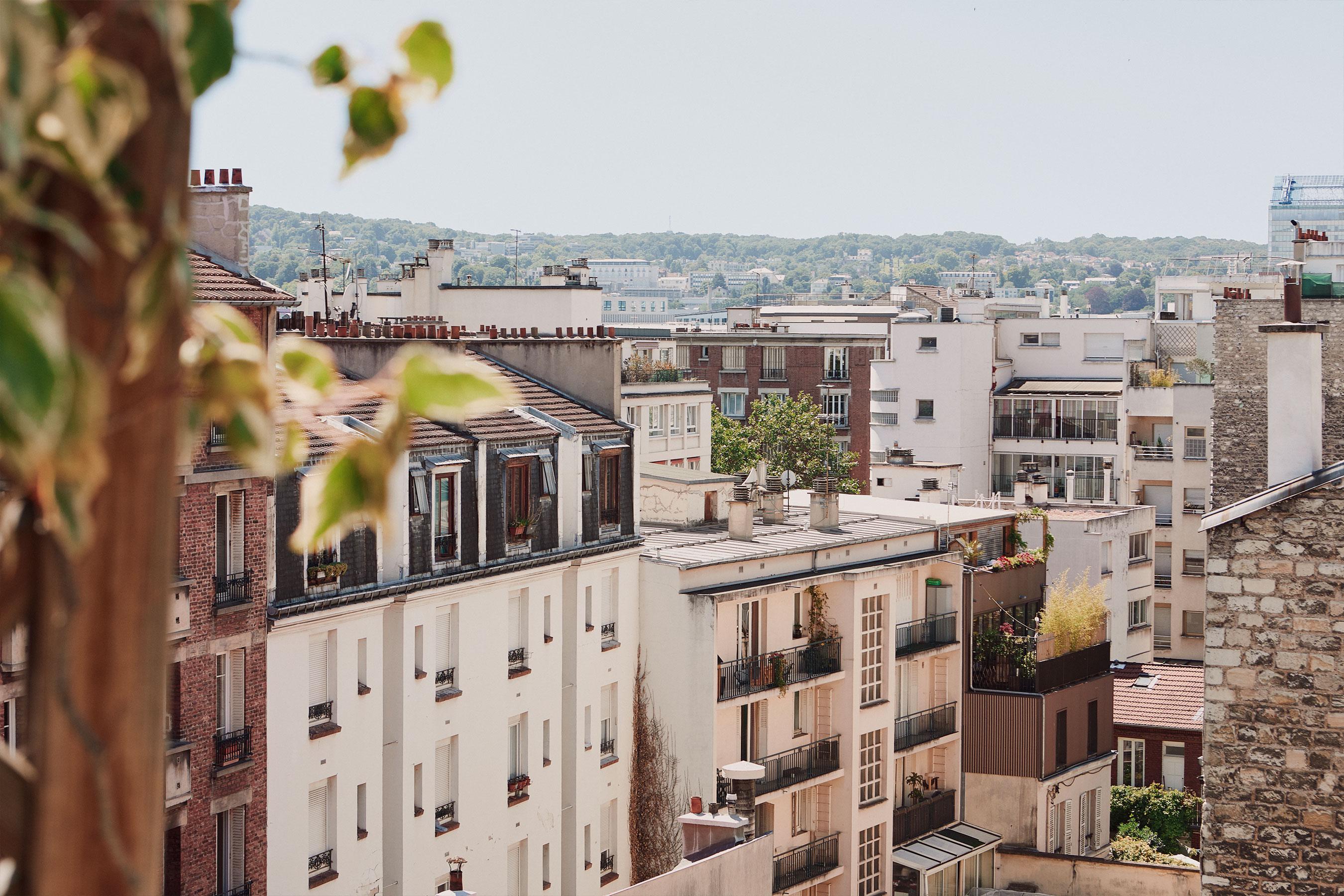 coworking boulogne - vu sur paris